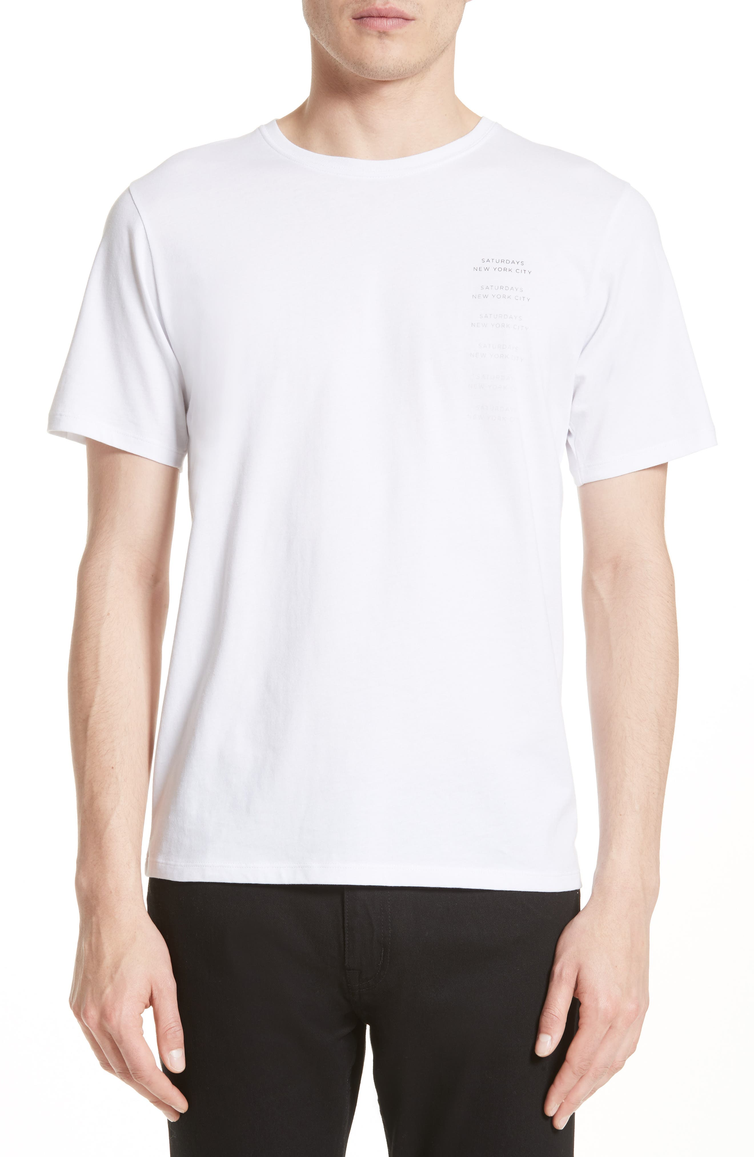 Saturdays NYC Logo Fade Graphic T-Shirt