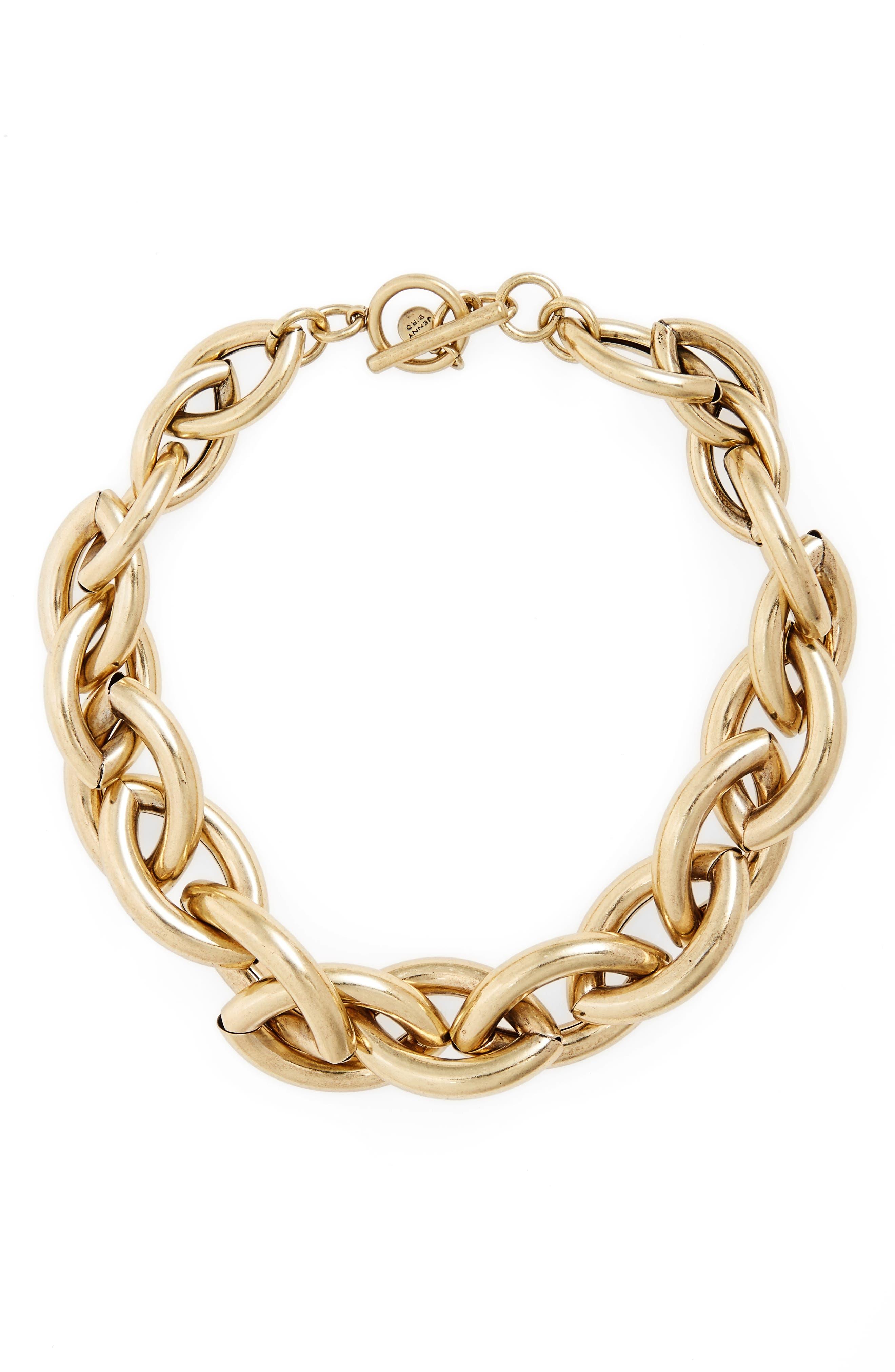 Jenny Bird Sloane Chain Collar Necklace