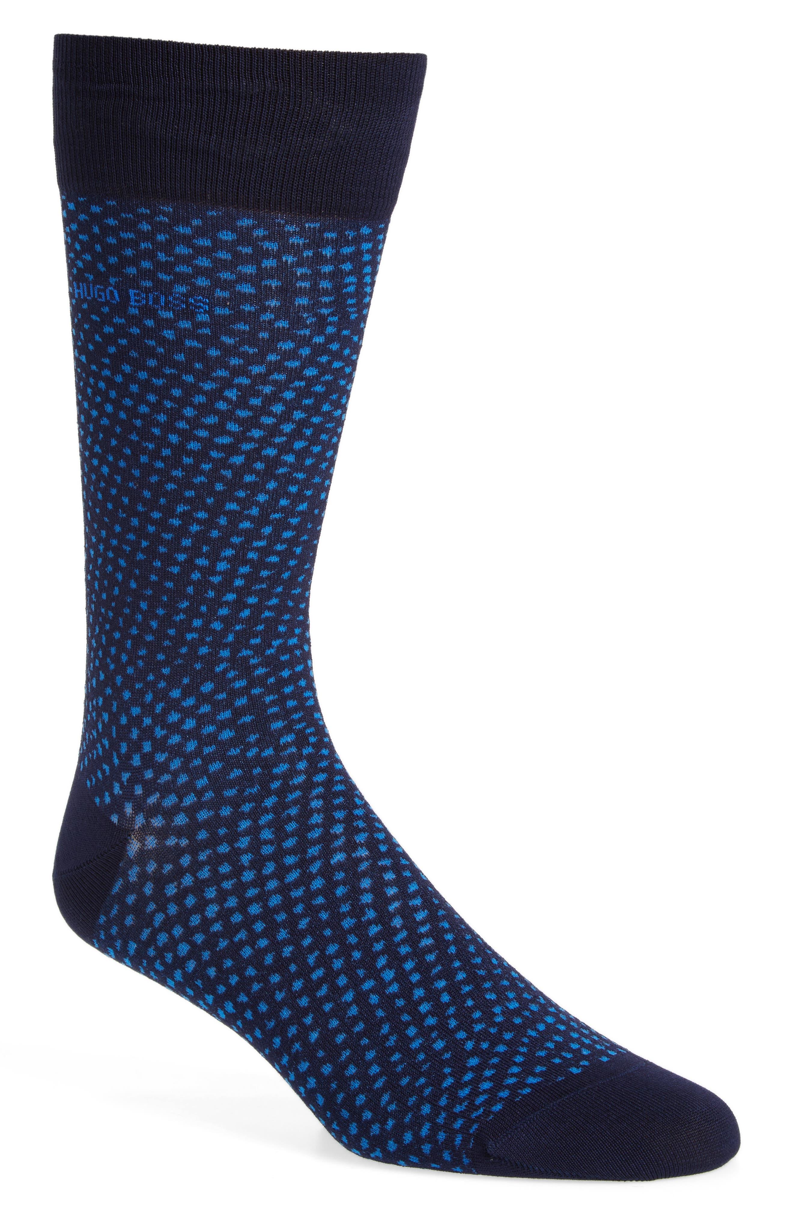 BOSS RS Design Gradient Microdot Socks