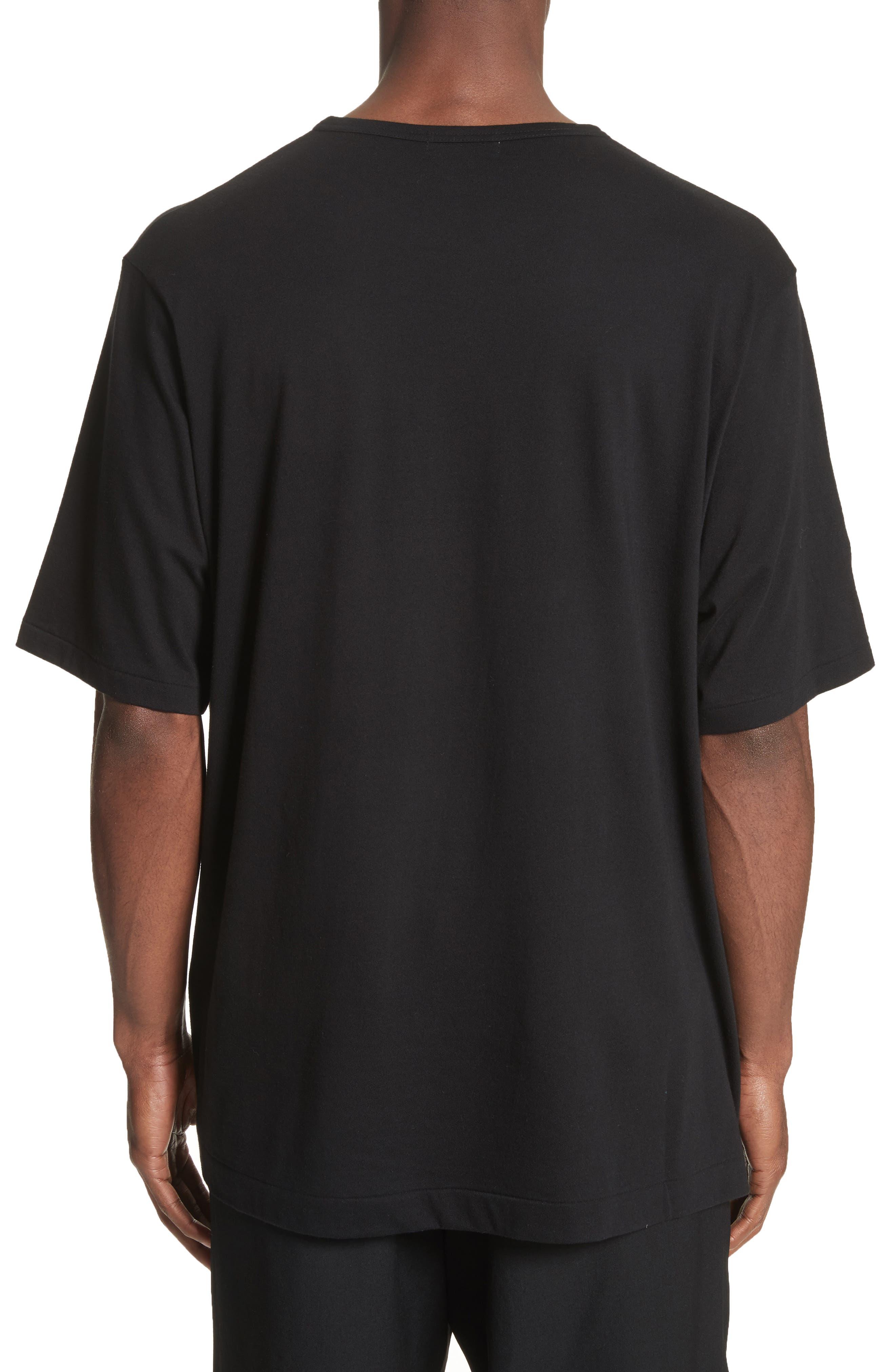 Oversize Skull Graphic T-Shirt,                             Alternate thumbnail 2, color,                             Black
