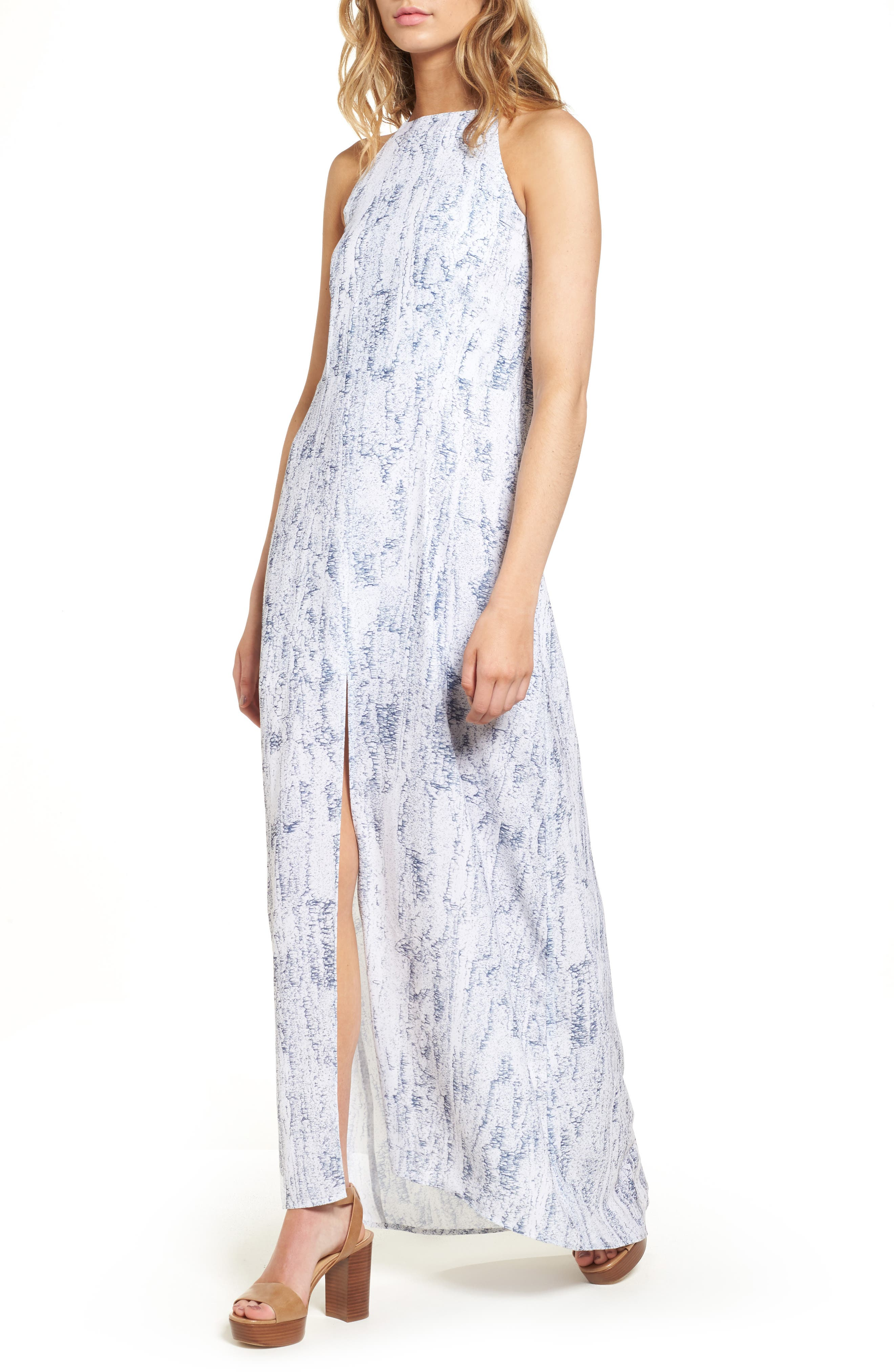 Main Image - Thieves Like Us Halter Maxi Dress