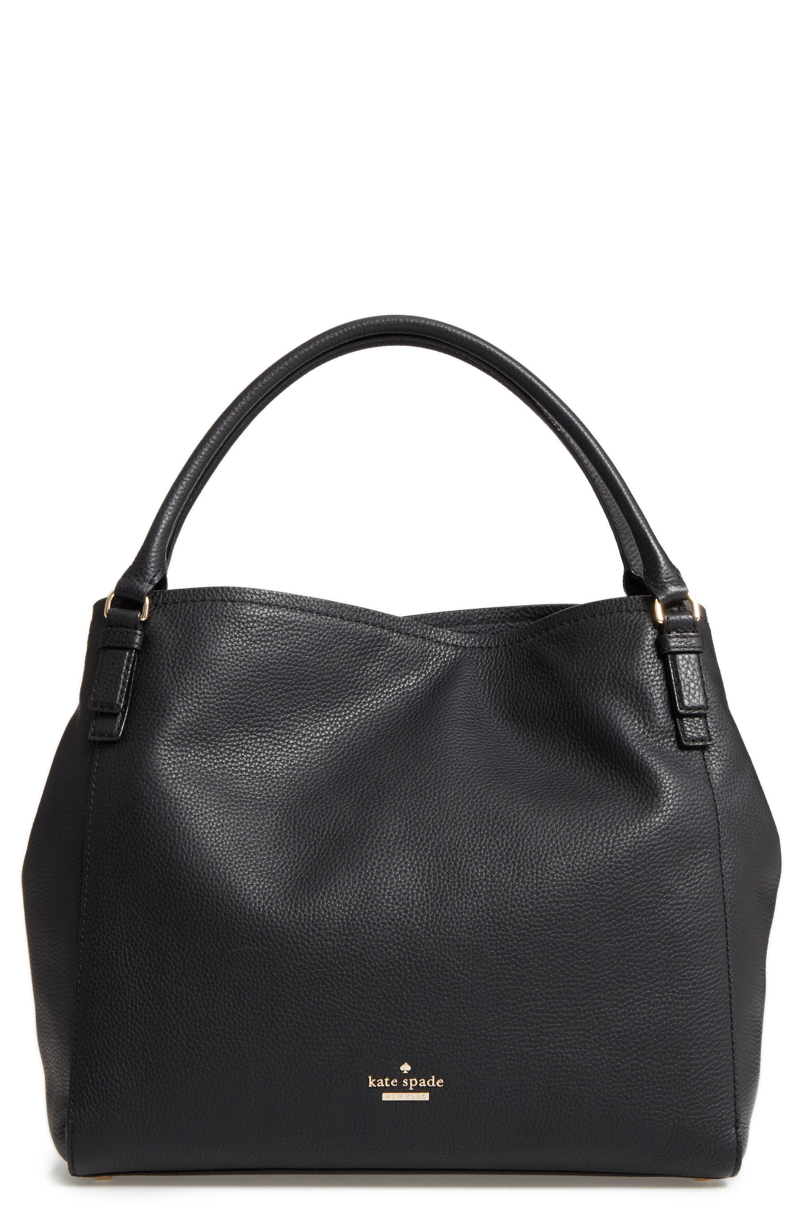 kate space new york jackson street ann leather tote (Nordstrom Exclusive)