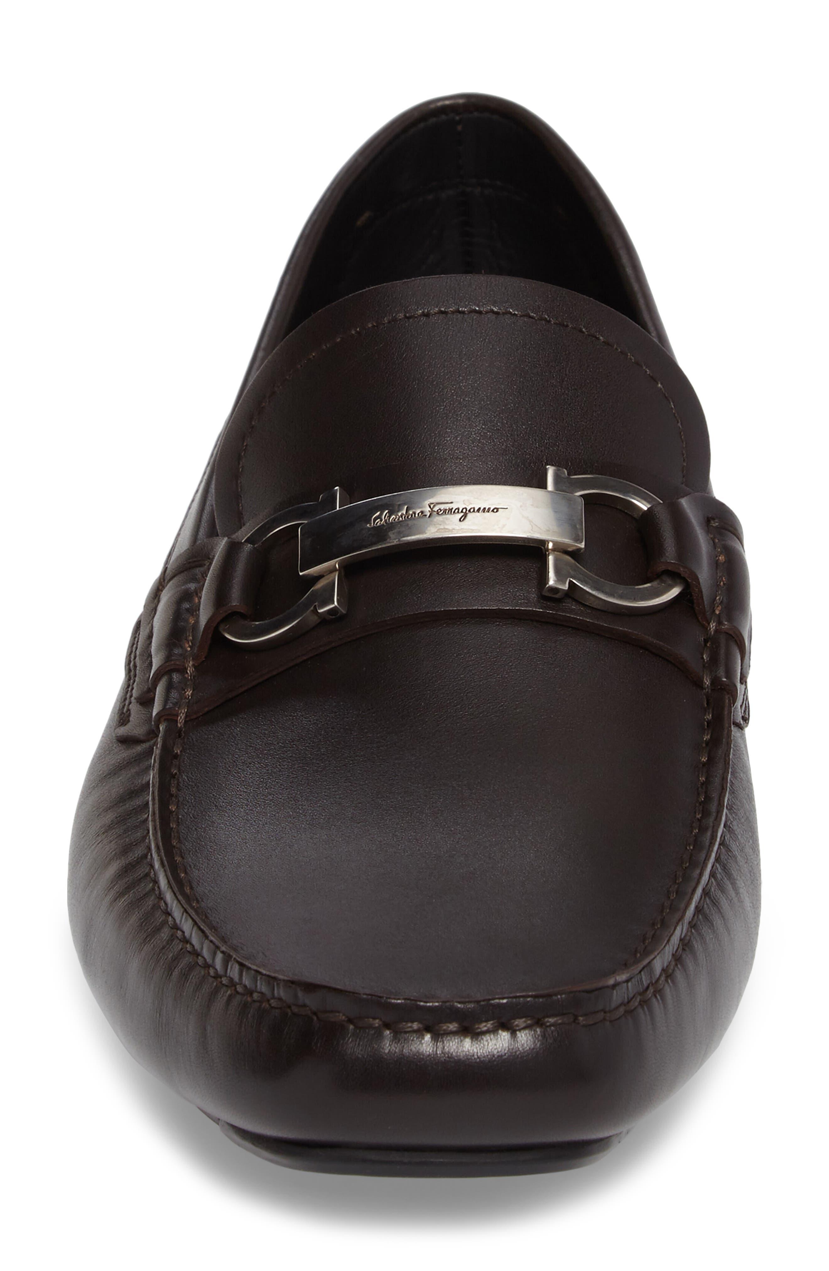 Alternate Image 4  - Salvatore Ferragamo Driving Shoe (Men)
