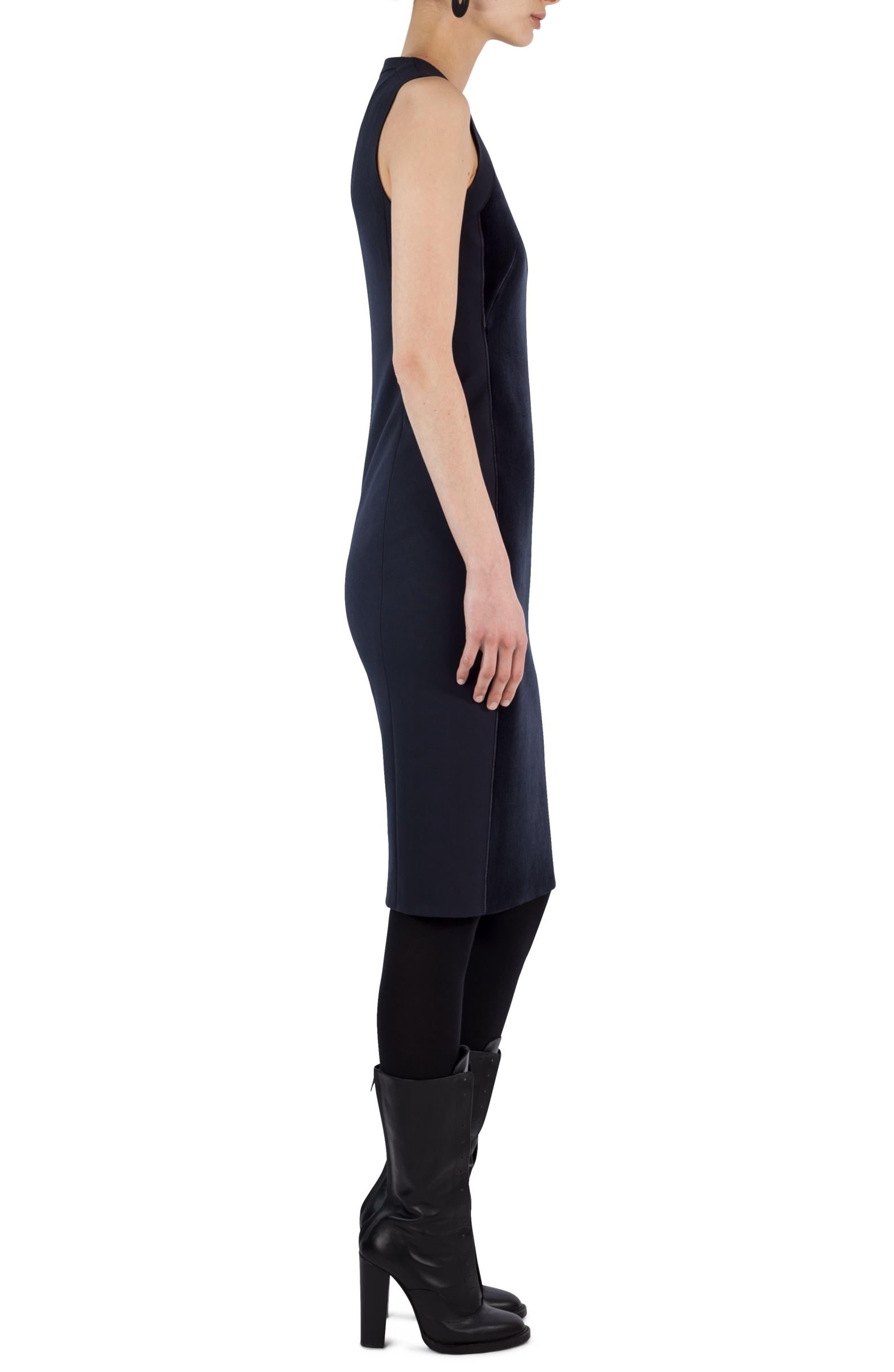 Alternate Image 2  - Akris punto Velvet Front Shift Dress