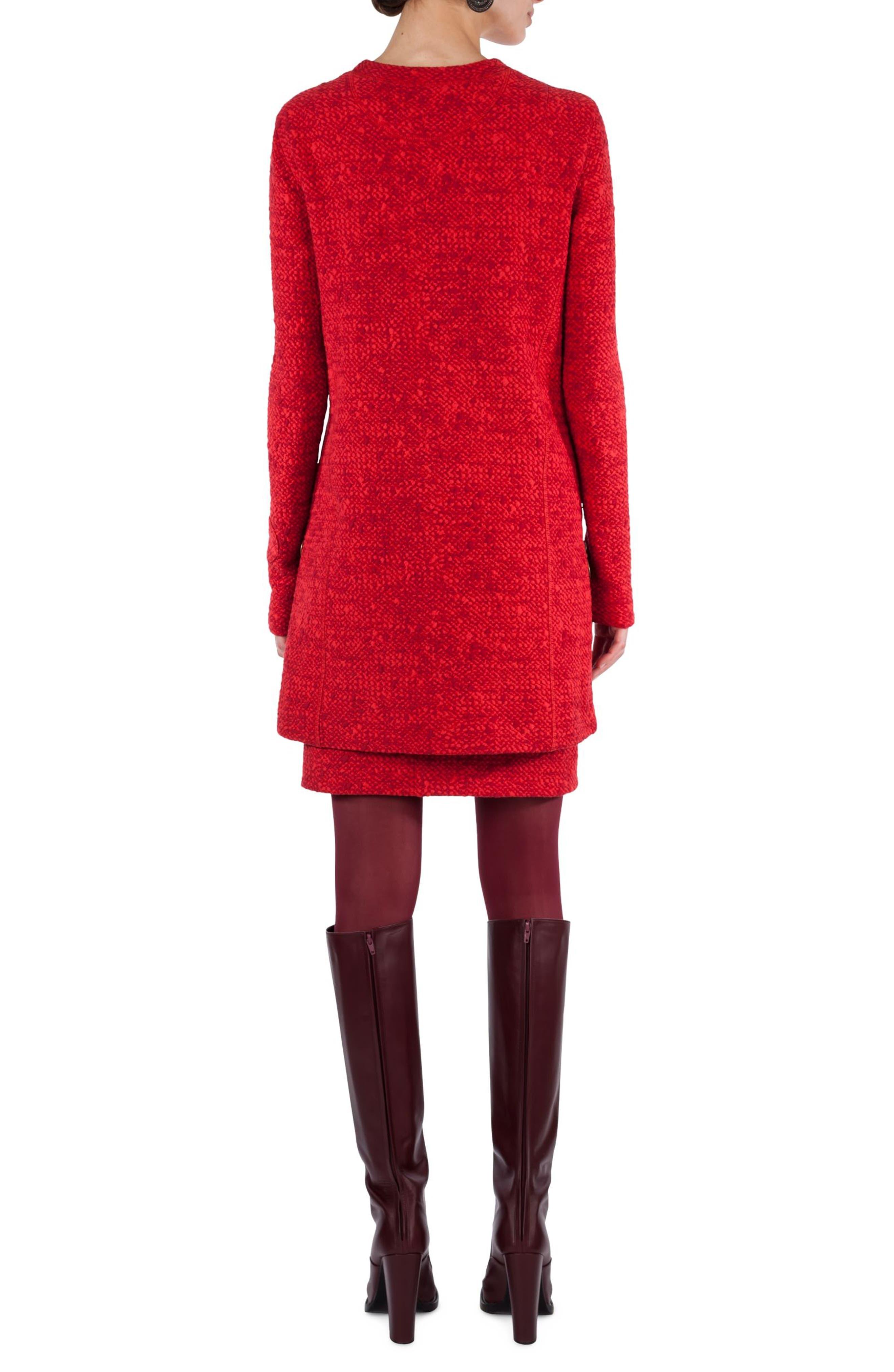 Alternate Image 2  - Akris punto Mélange Knit Tunic Pullover