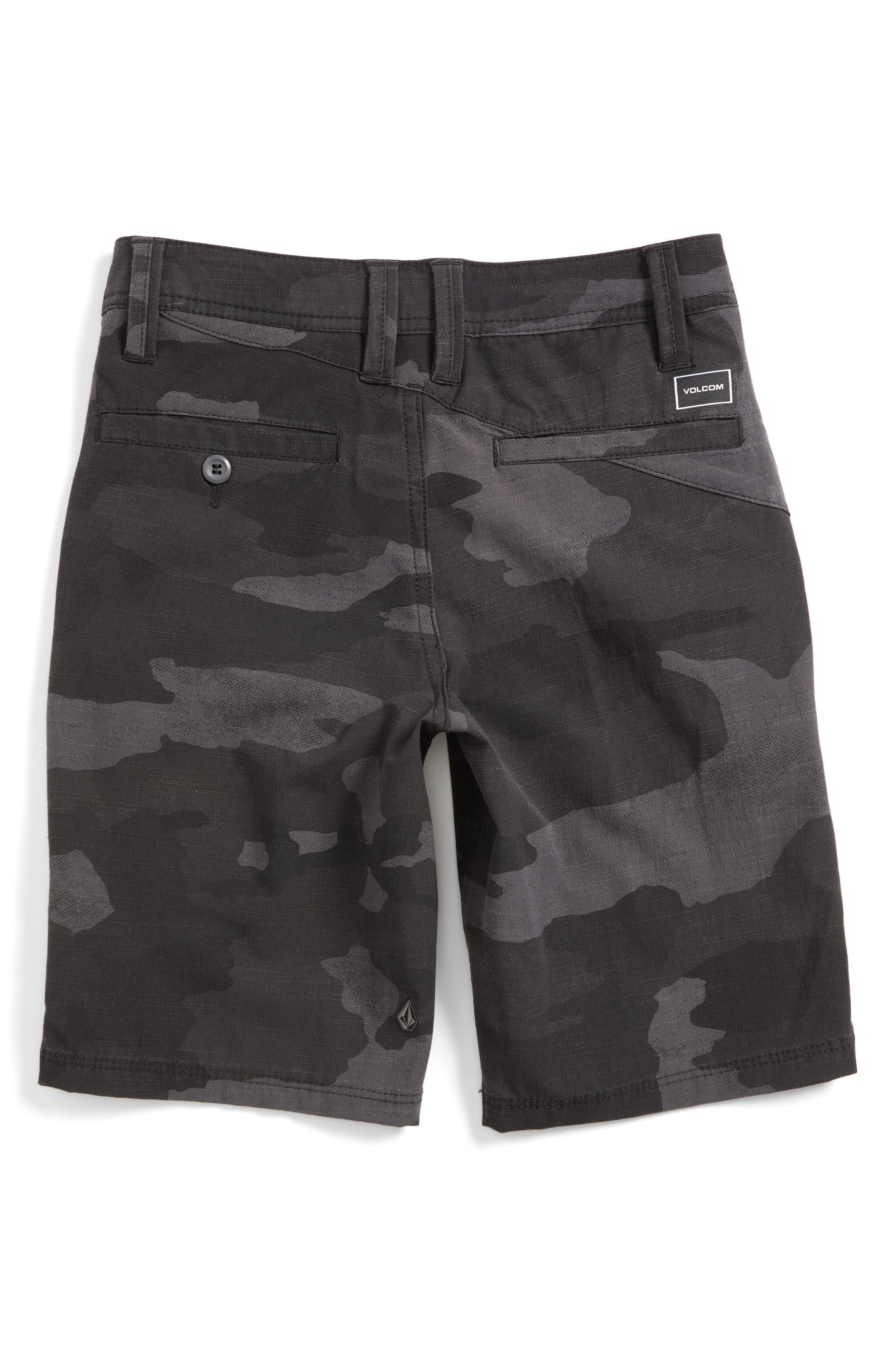 Surf N' Turf Hybrid Shorts,                             Alternate thumbnail 2, color,                             Black