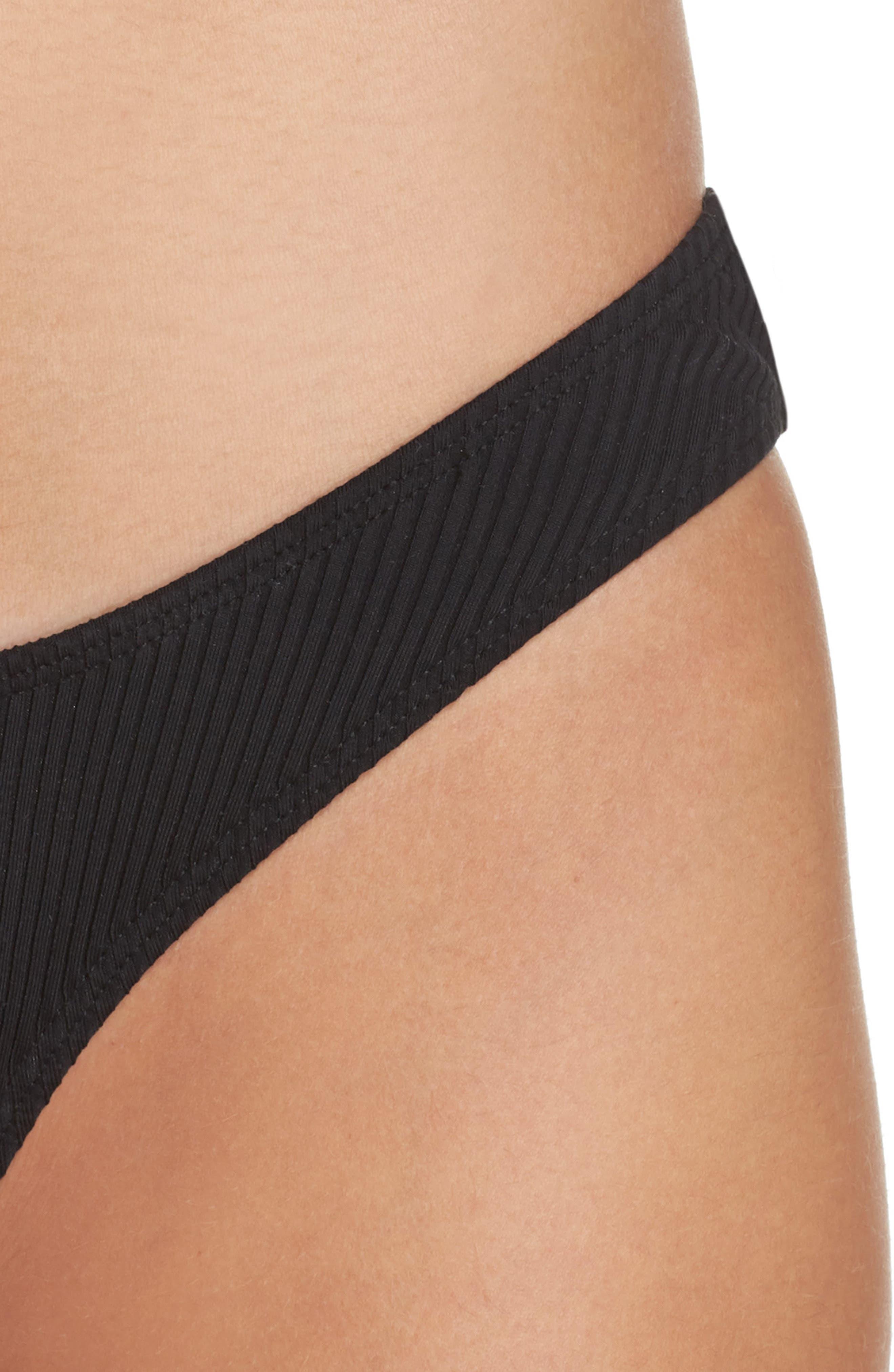 Alternate Image 4  - Minimale Animale Ribbed Bikini Bottoms