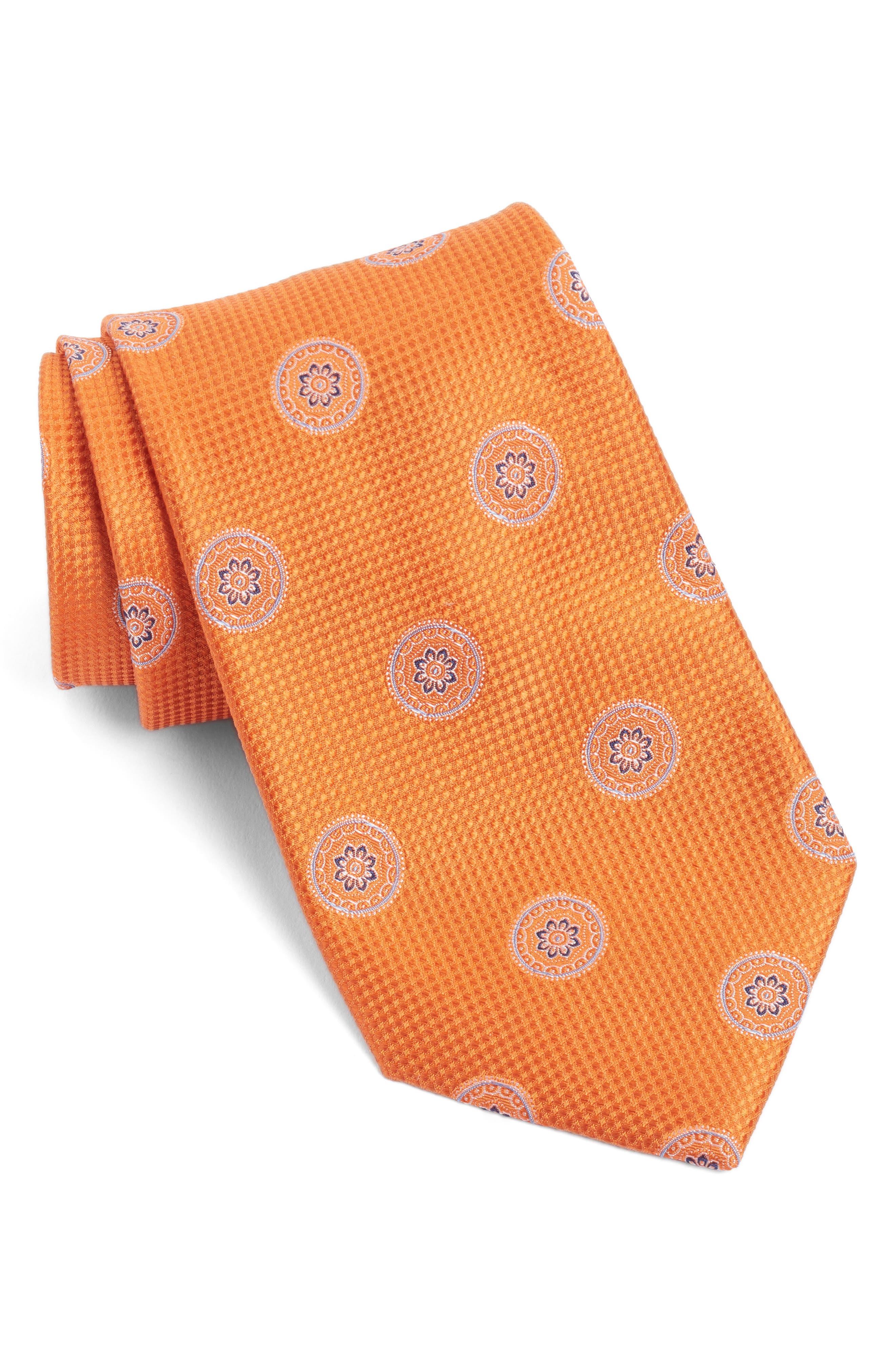 Nordstrom Men's Shop Circular Medallion Silk Tie