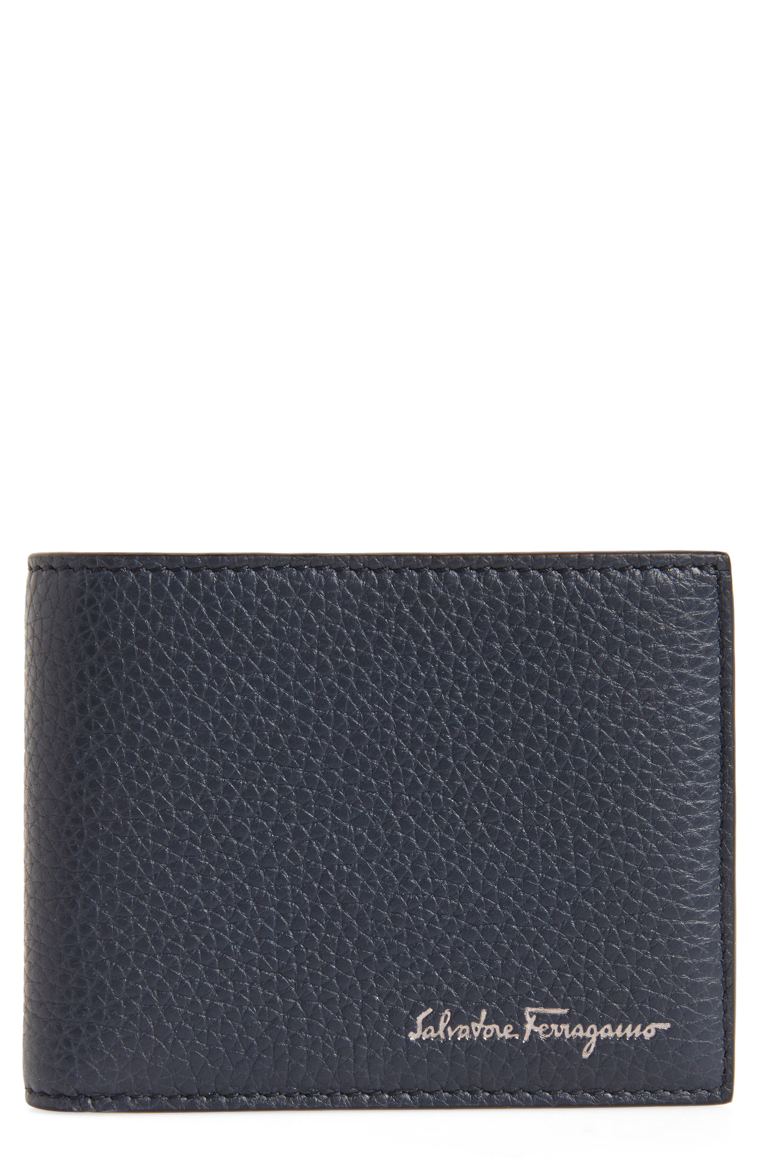 SALVATORE FERRAGAMO Firenze Leather Bifold Wallet