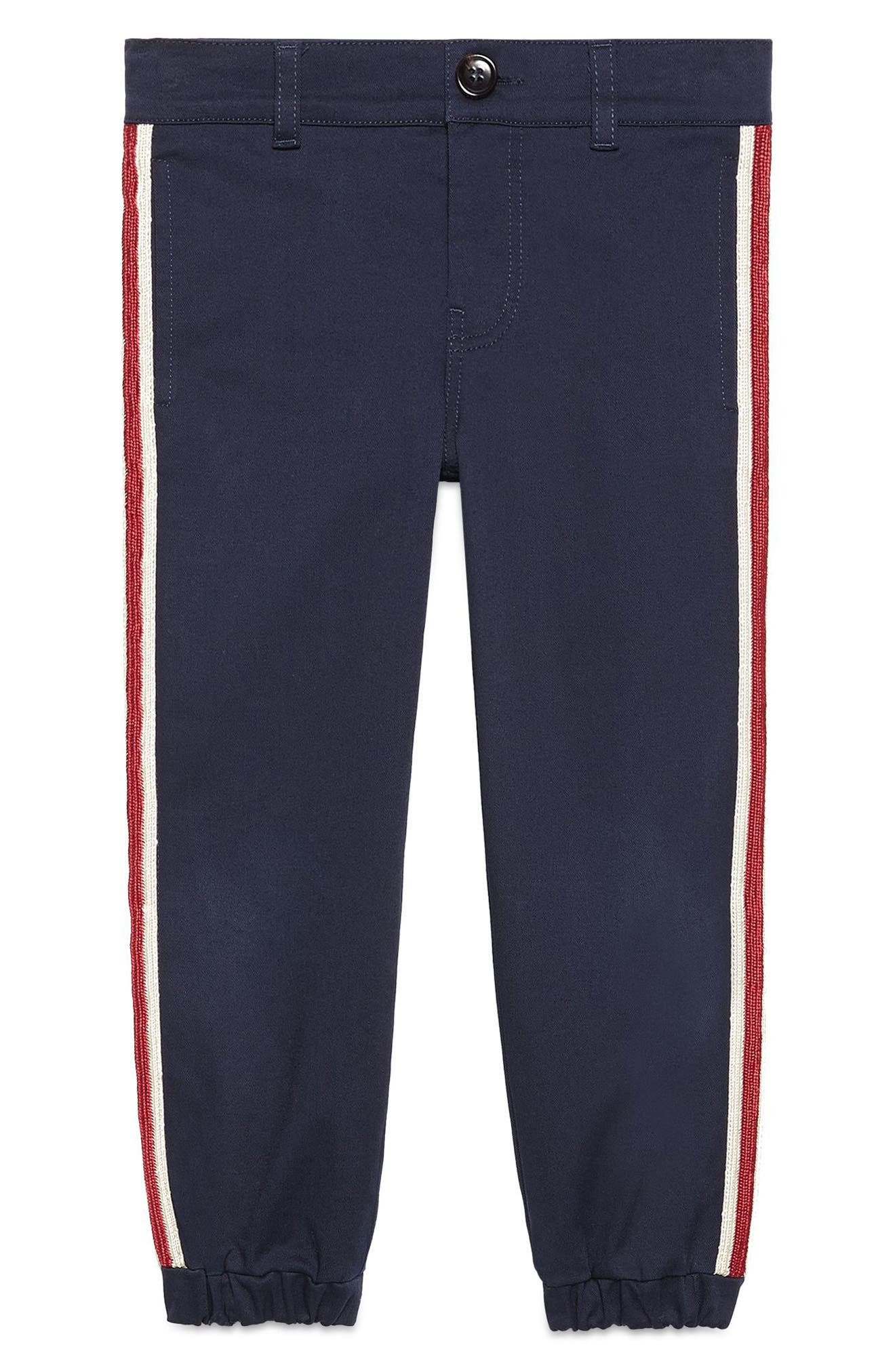 Alternate Image 1 Selected - Gucci Stripe Pants (Little Boys & Big Boys)