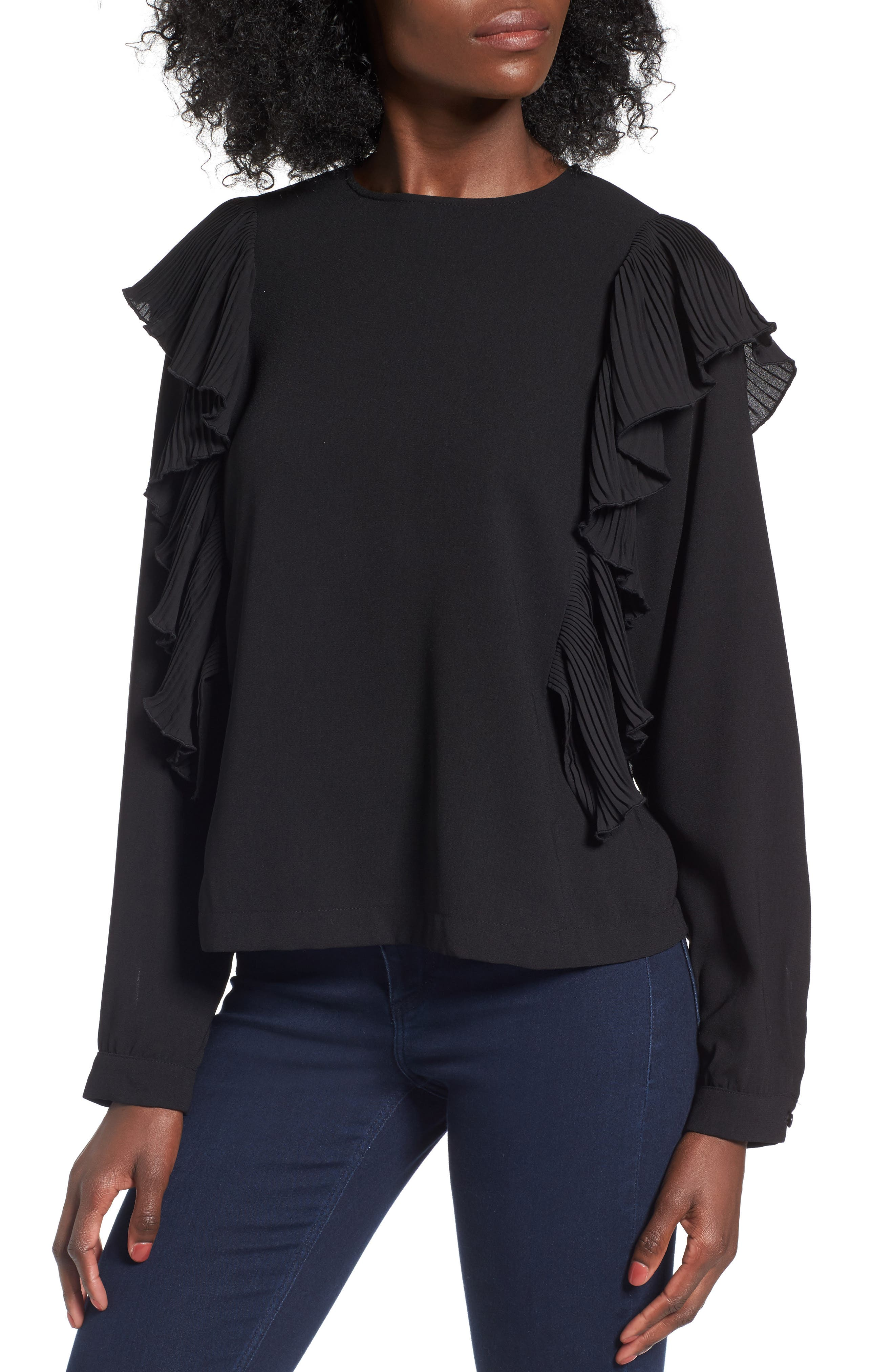 Alternate Image 1 Selected - Leith Ruffle Top