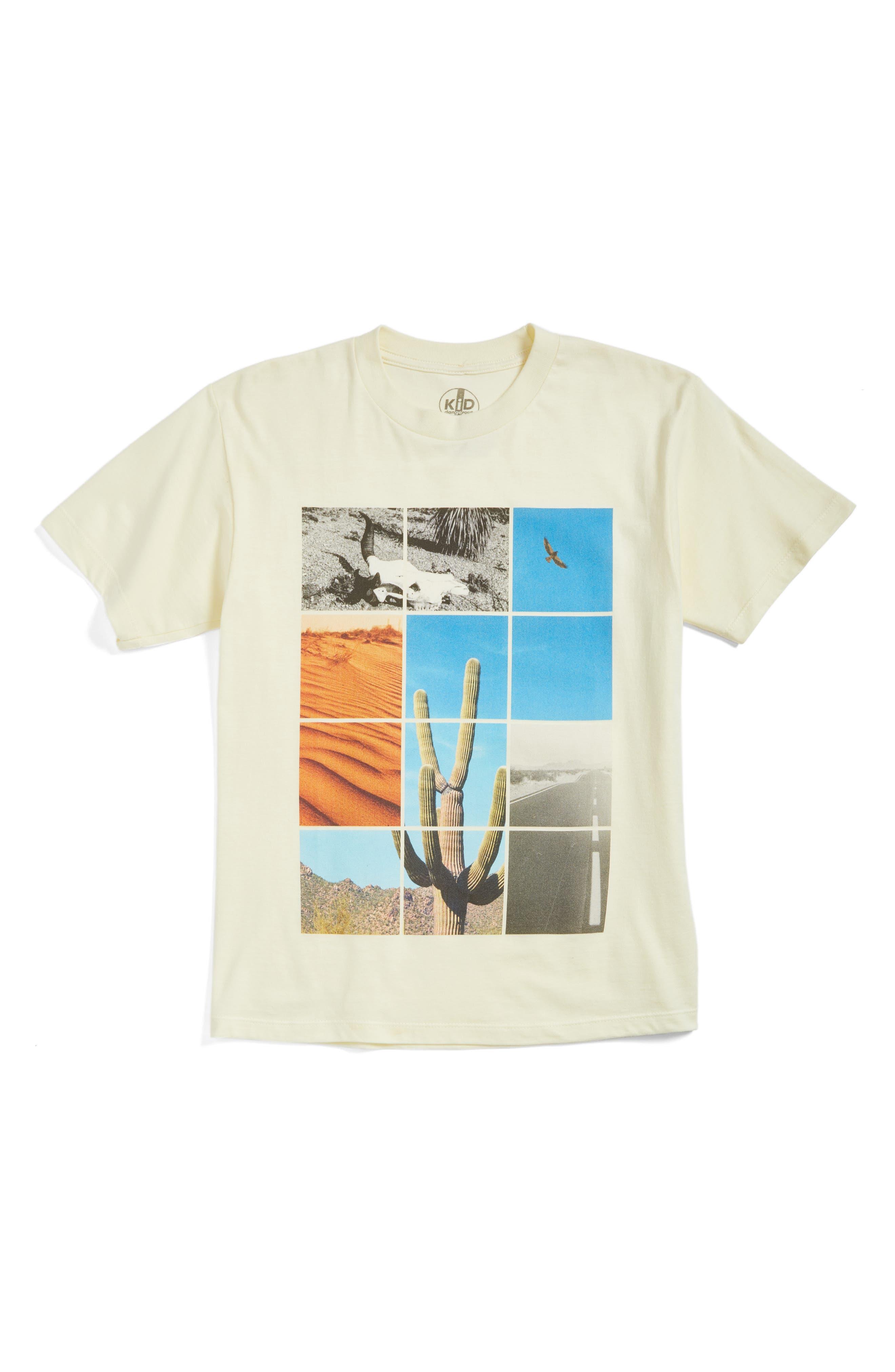 Kid Dangerous Desert Graphic T-Shirt (Big Boys)