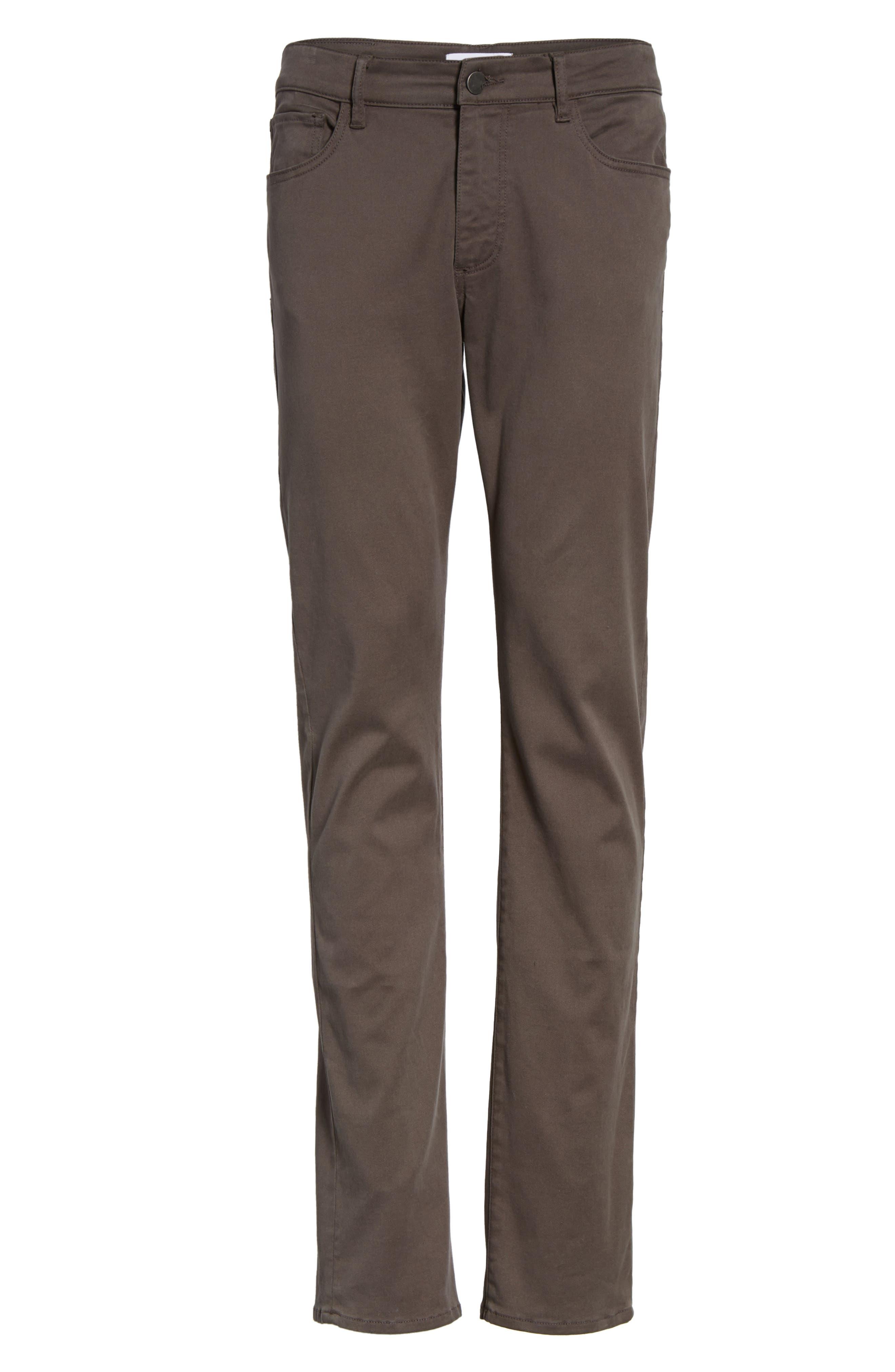 Alternate Image 5  - DL1961 Russell Slim Fit Sateen Twill Pants