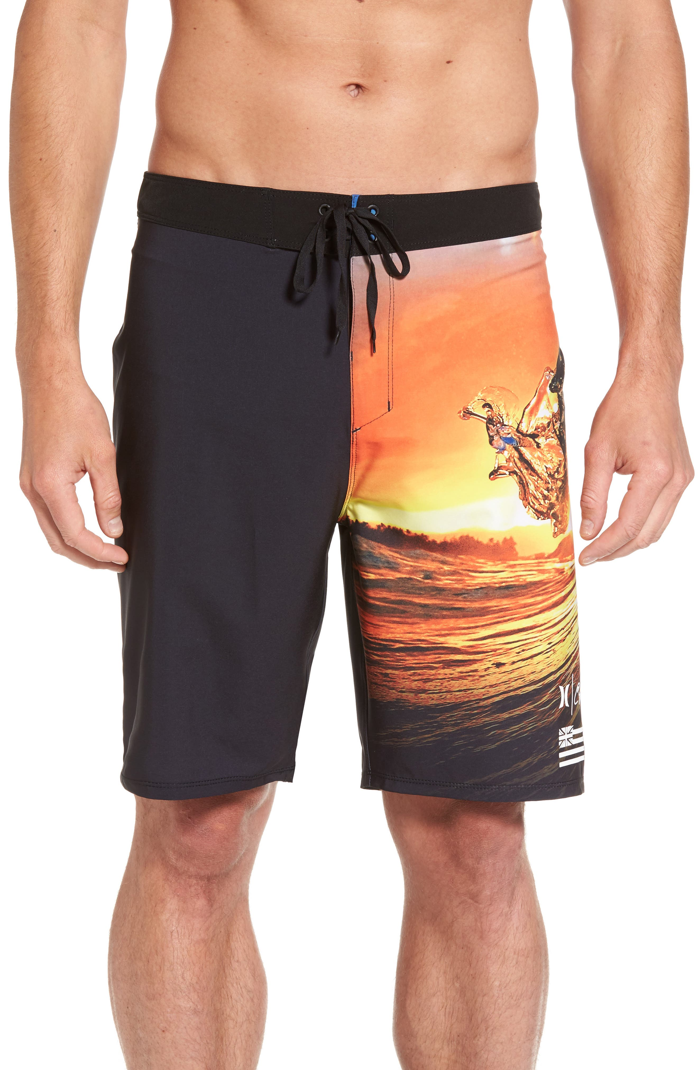 Hurley Phantom Clark Little King Kame Board Shorts