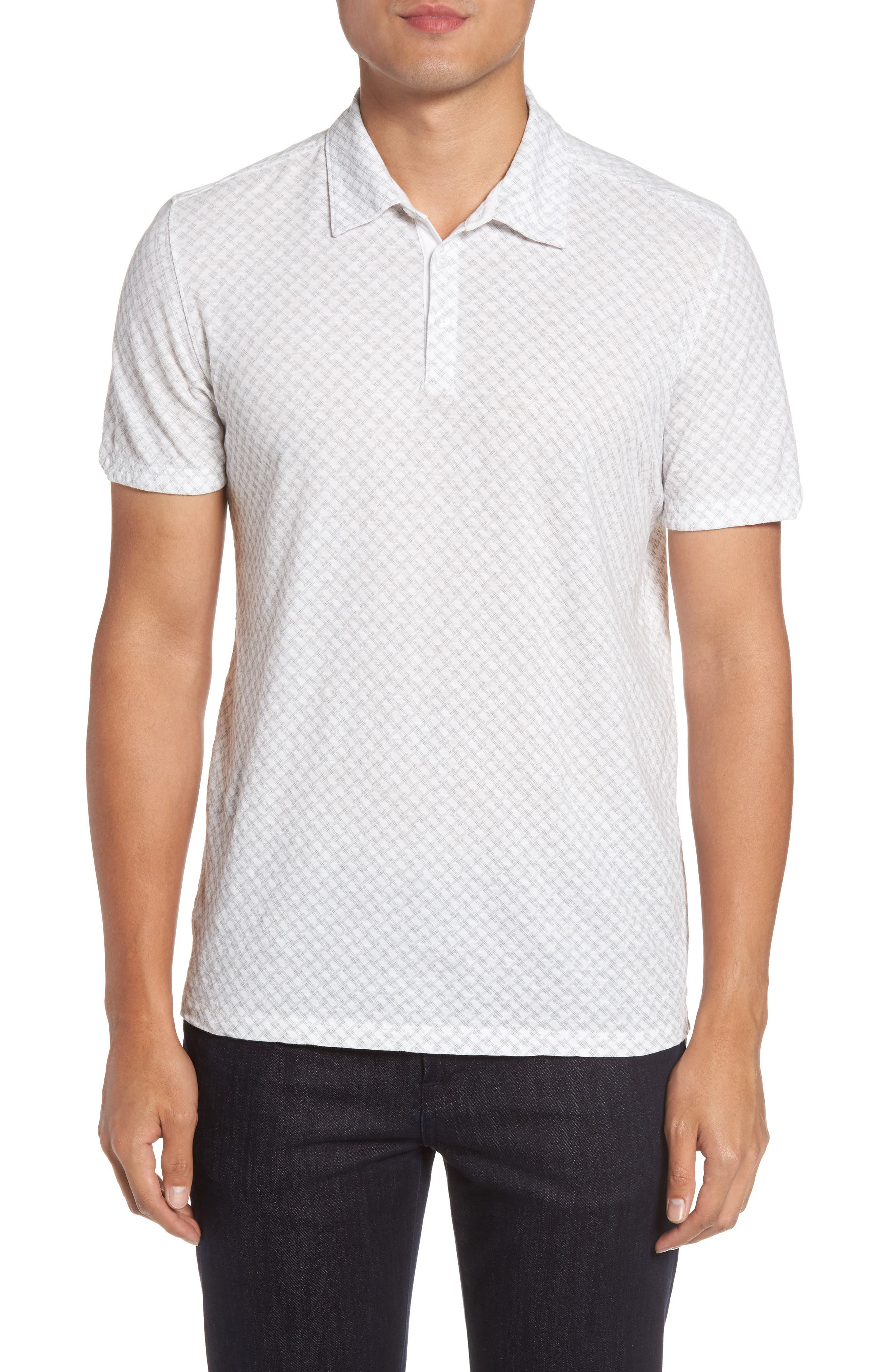 Alternate Image 1 Selected - Zachary Prell Mays Print Jersey Polo