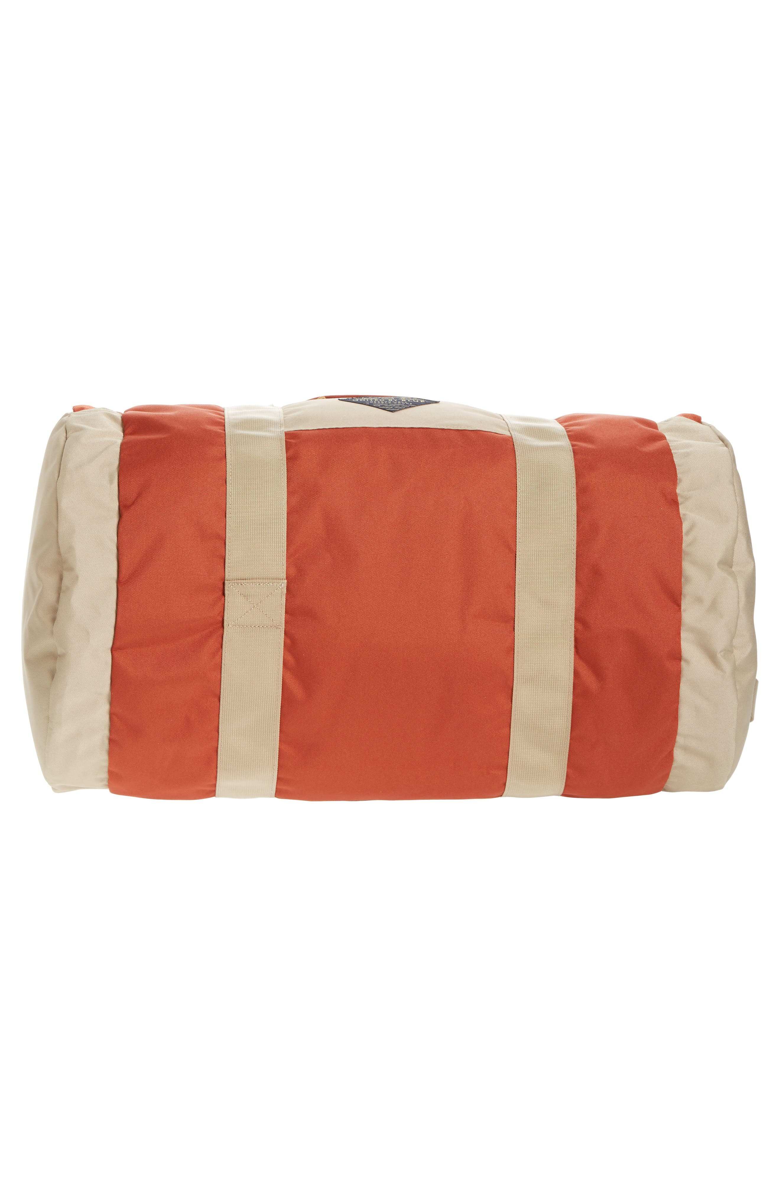 Arc Duffel Bag,                             Alternate thumbnail 6, color,                             Rust/ Tan