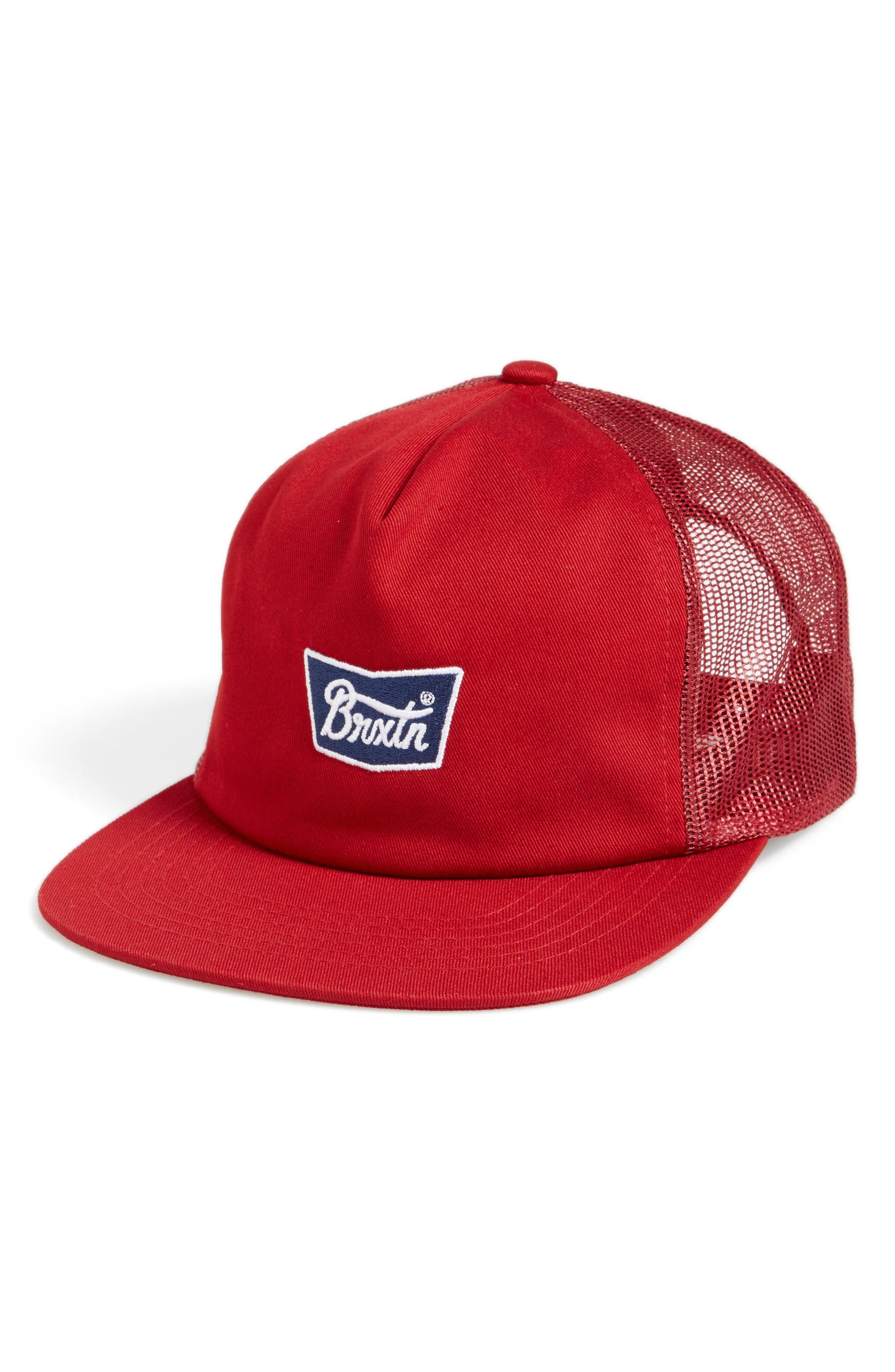 Brixton Stith Mesh Snapback Baseball Cap
