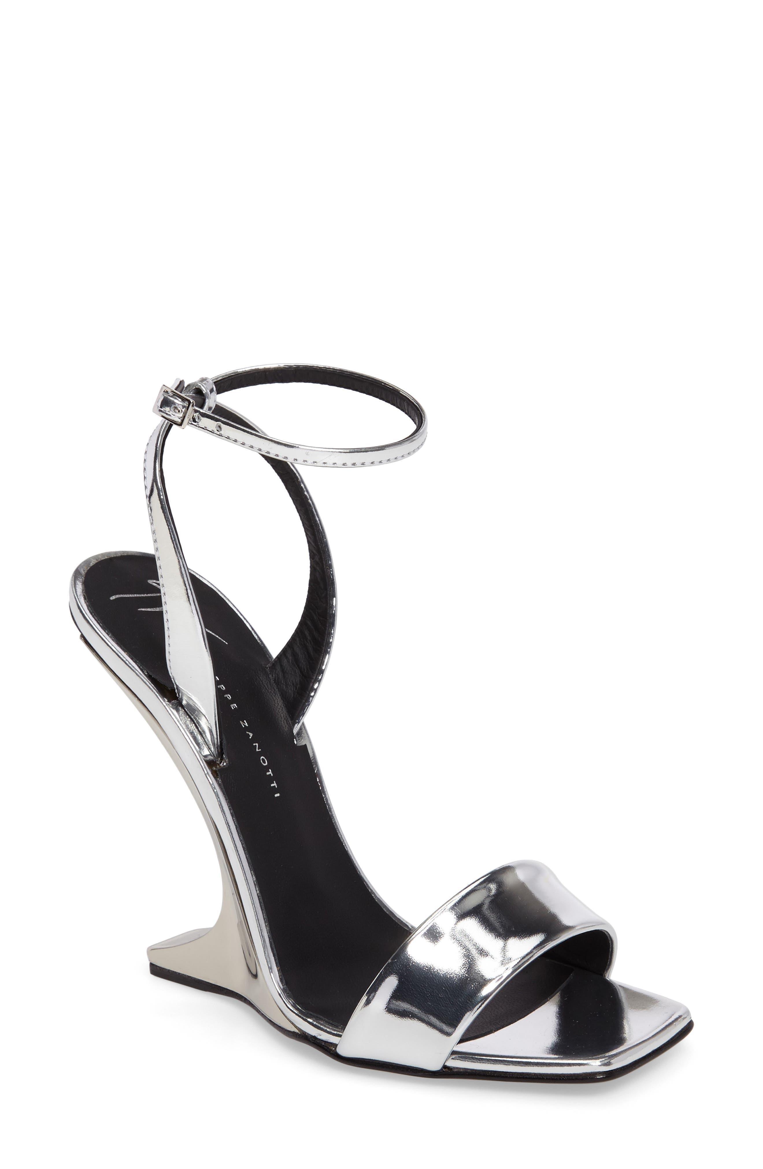 Alternate Image 1 Selected - Giuseppe Zanotti Wedge Sandal (Women)