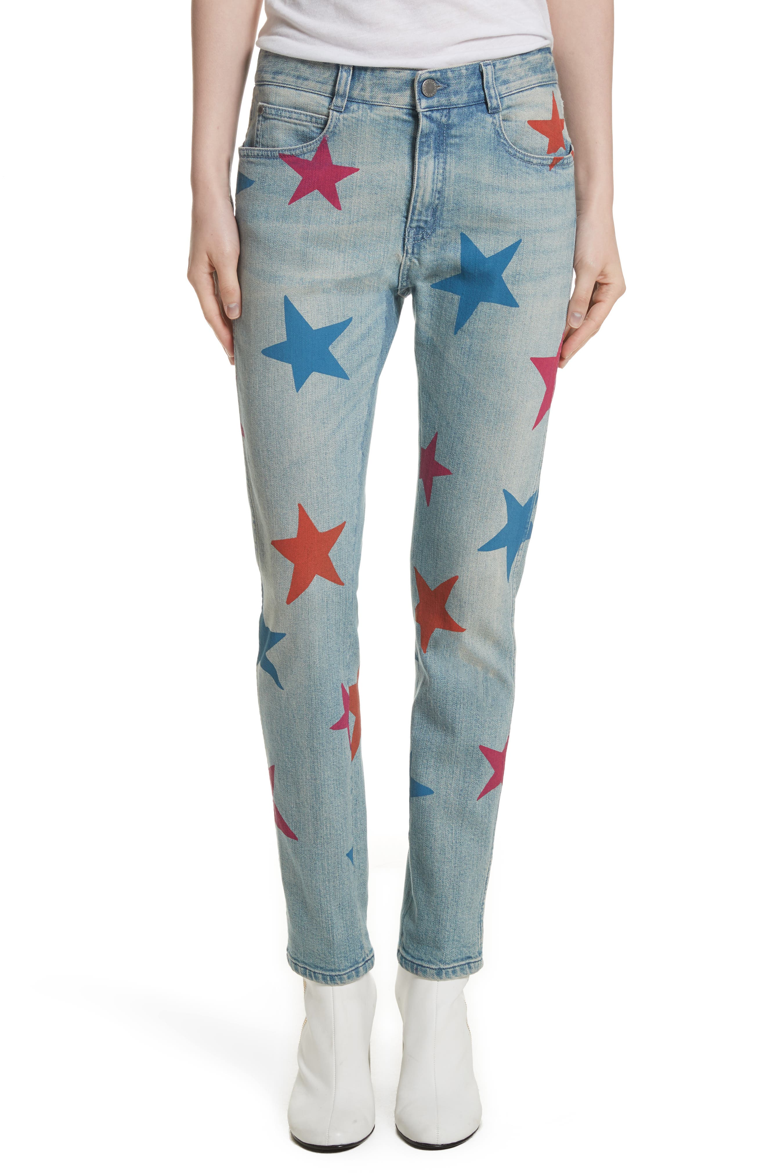 The Skinny Boyfriend Star Jeans,                         Main,                         color, Classic Blue Jeans