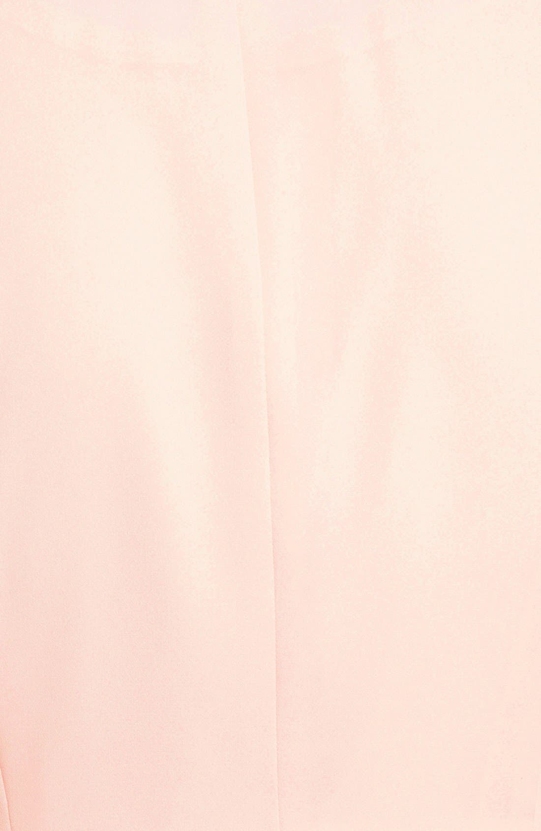 Drapey Zip Blazer,                             Alternate thumbnail 3, color,                             Blush