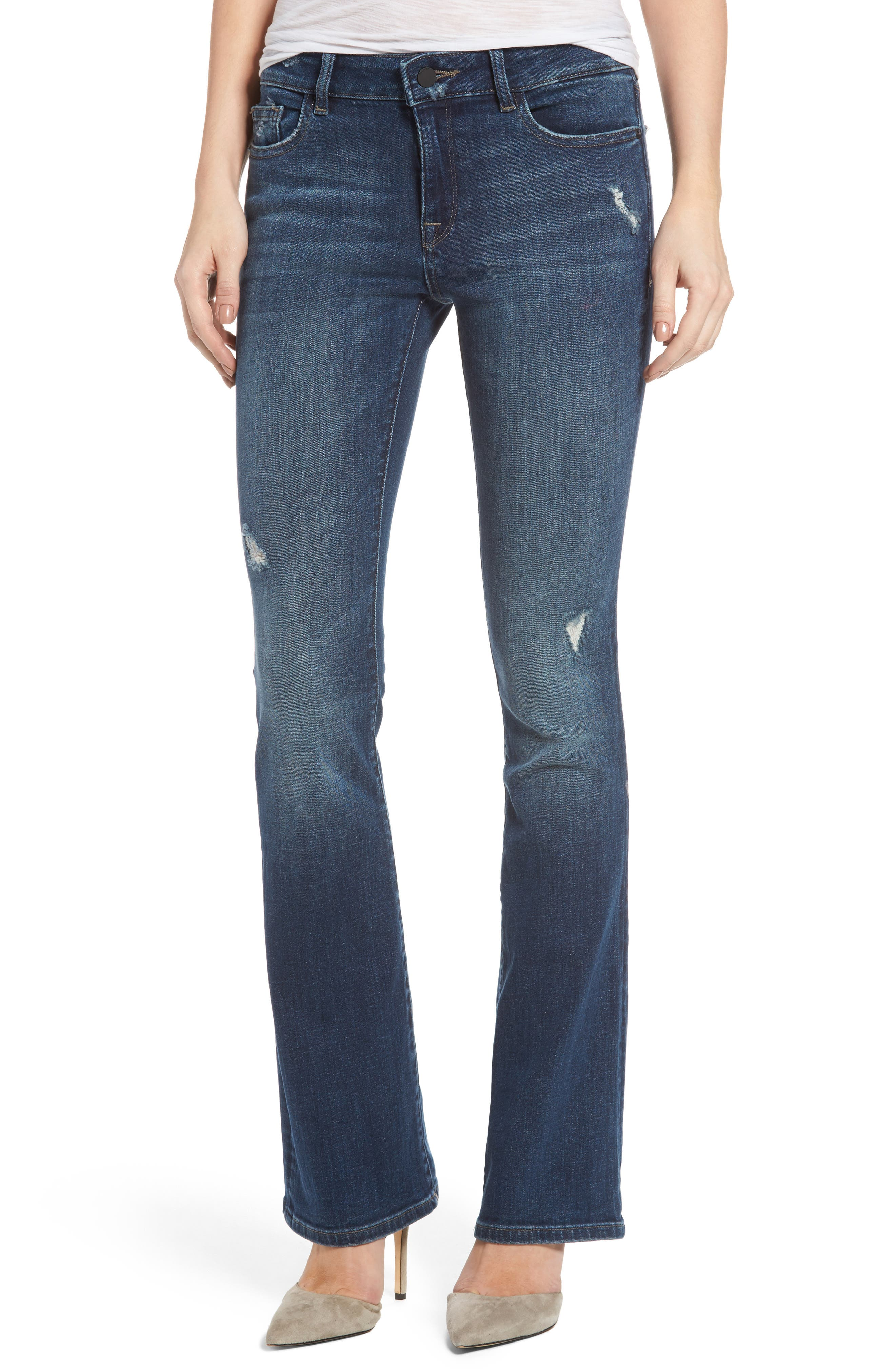 Main Image - DL1961 Bridget Bootcut Jeans (Holly)