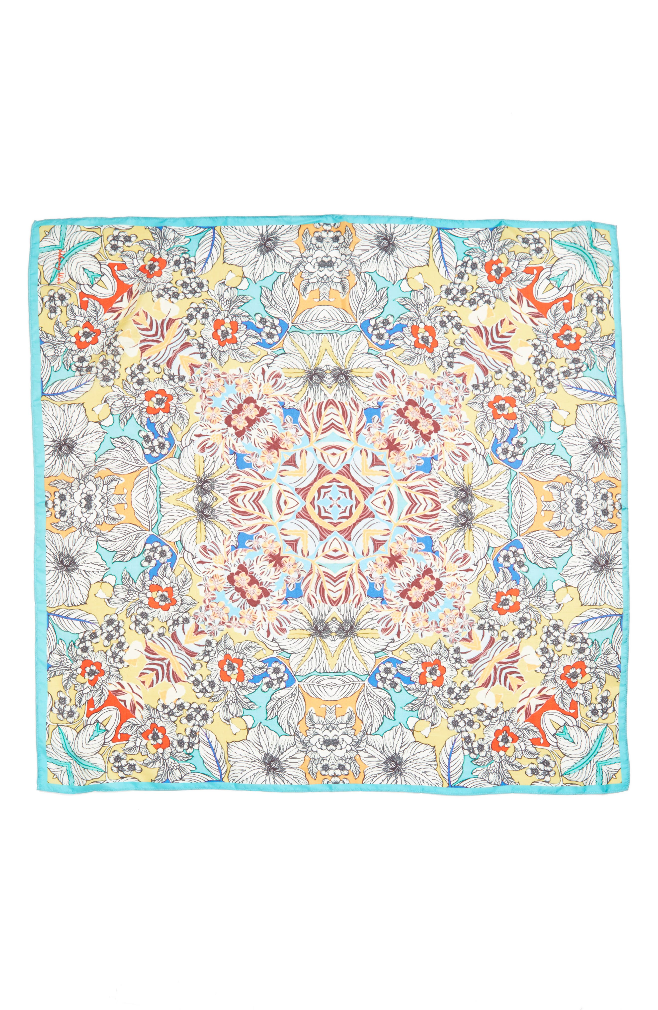 Alternate Image 2  - Johnny Was Maitri Silk Square Scarf