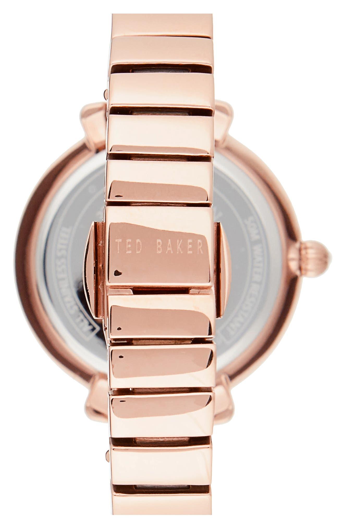 Alternate Image 2  - Ted Baker London Bree Bracelet Watch, 30mm