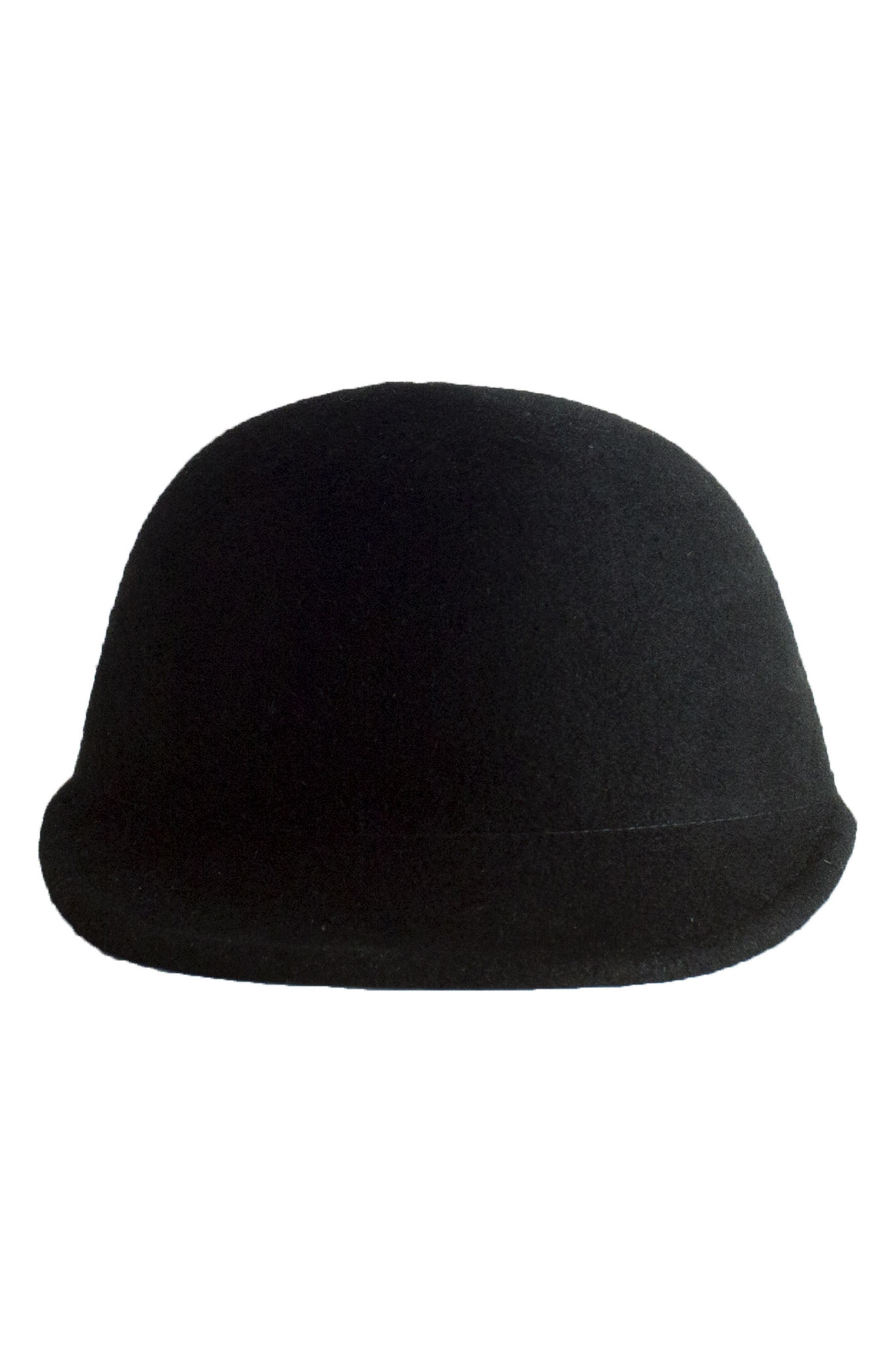 Parker Wool Hat,                             Alternate thumbnail 3, color,                             Black