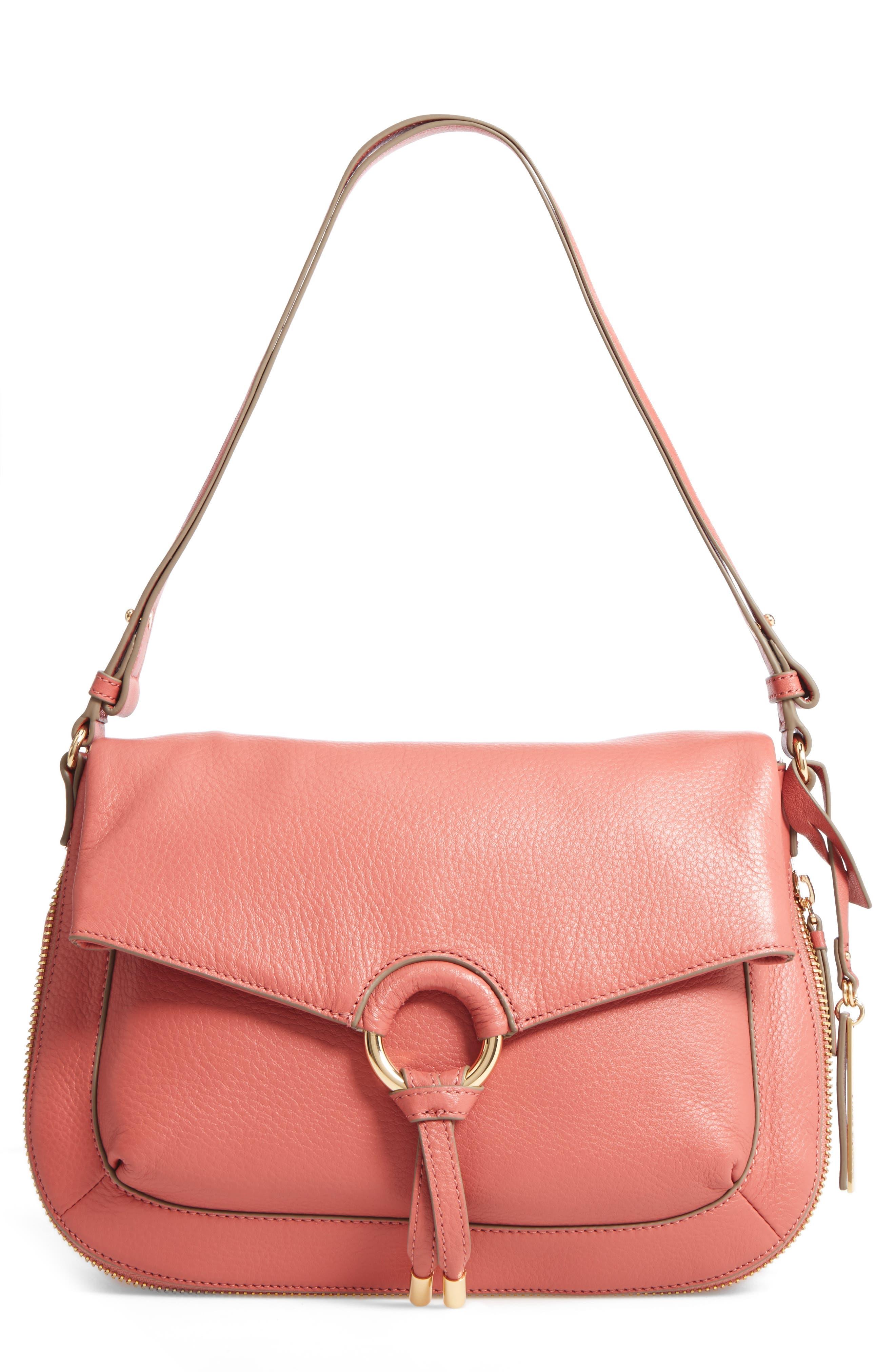 Vince Camuto Adina Leather Shoulder/Crossbody Bag