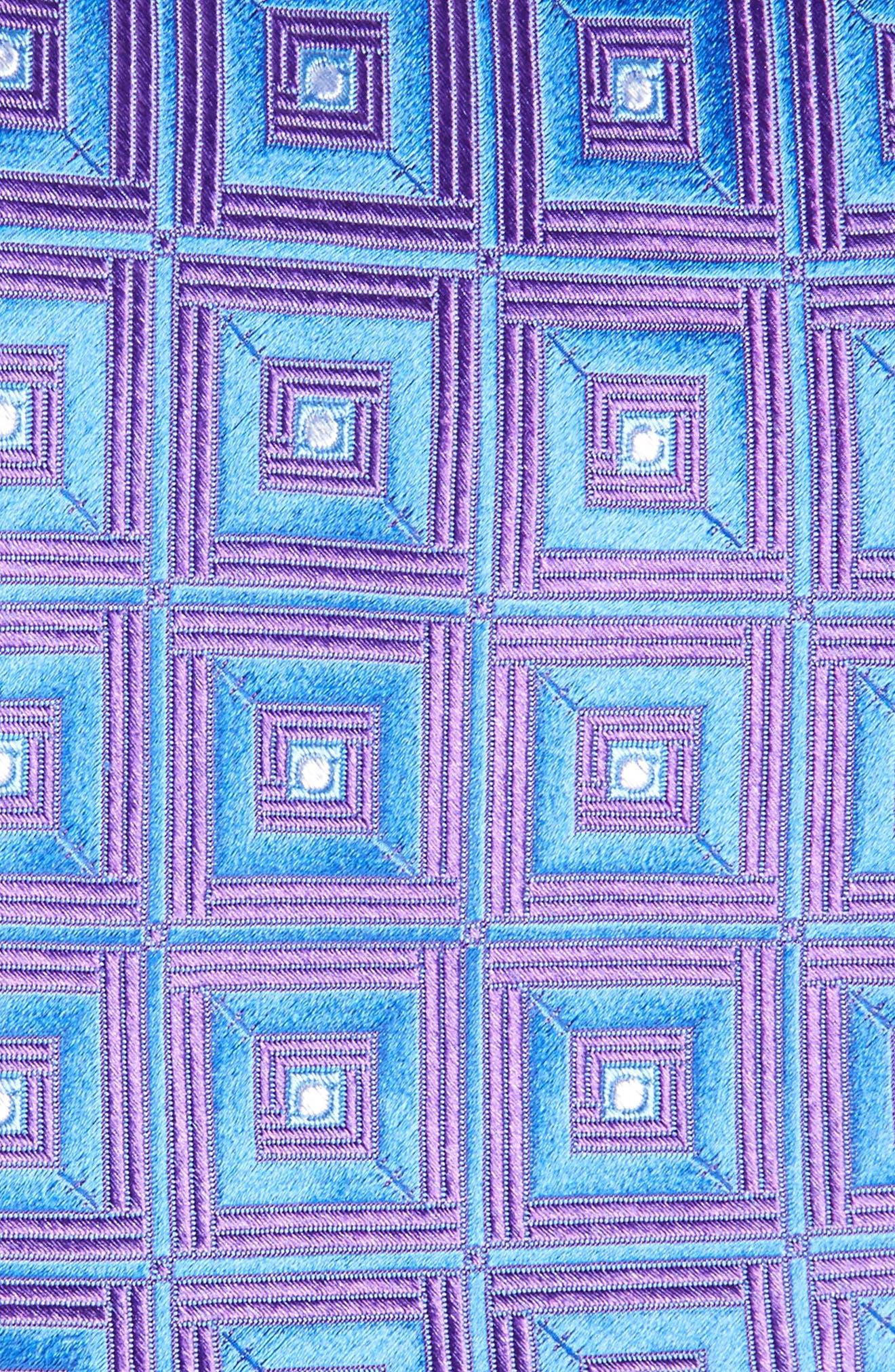 Alternate Image 2  - Nordstrom Men's Shop Frame Diamonds Silk Tie