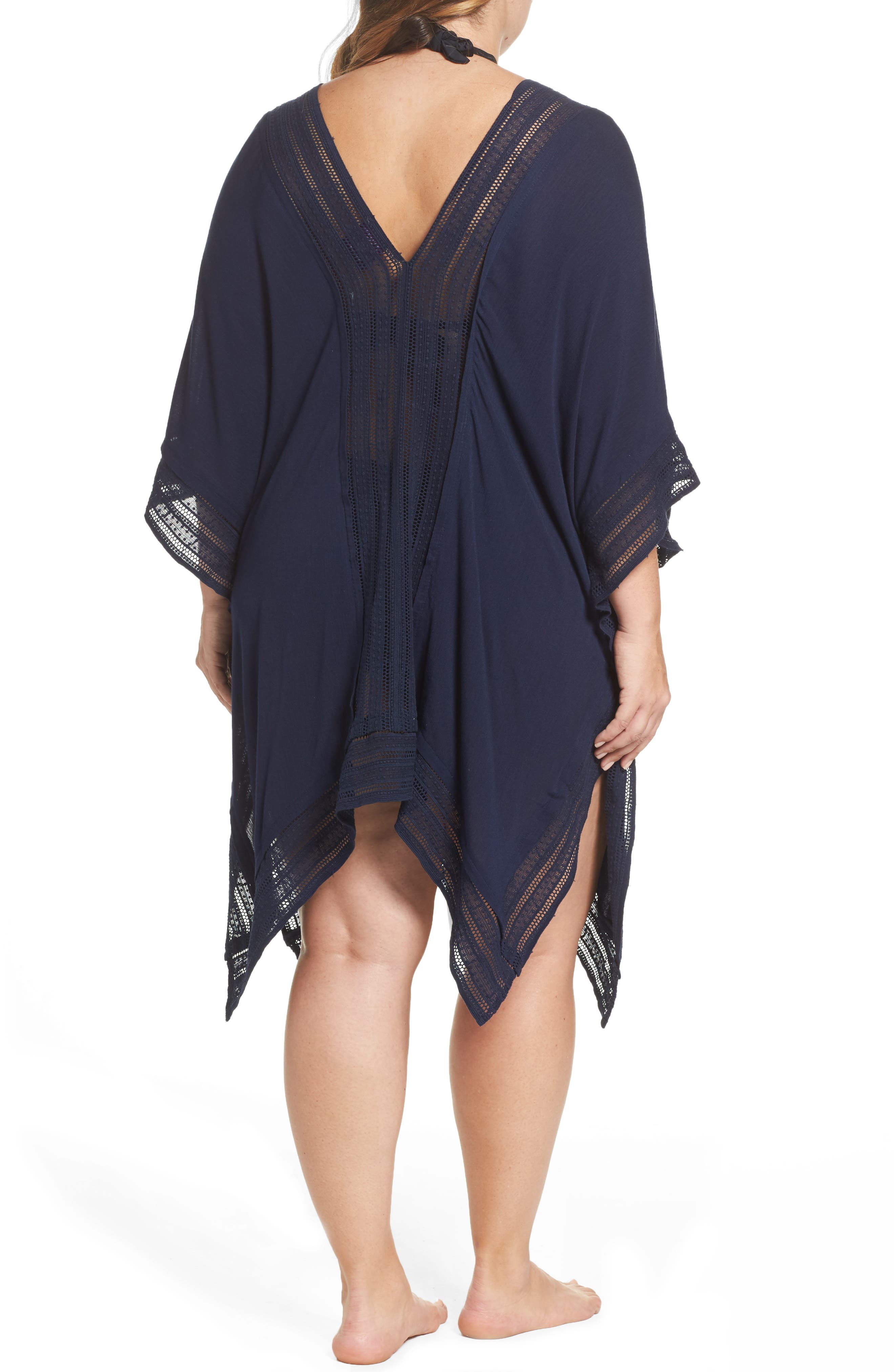 Serendipity Cover-Up Tunic,                             Alternate thumbnail 2, color,                             Navy