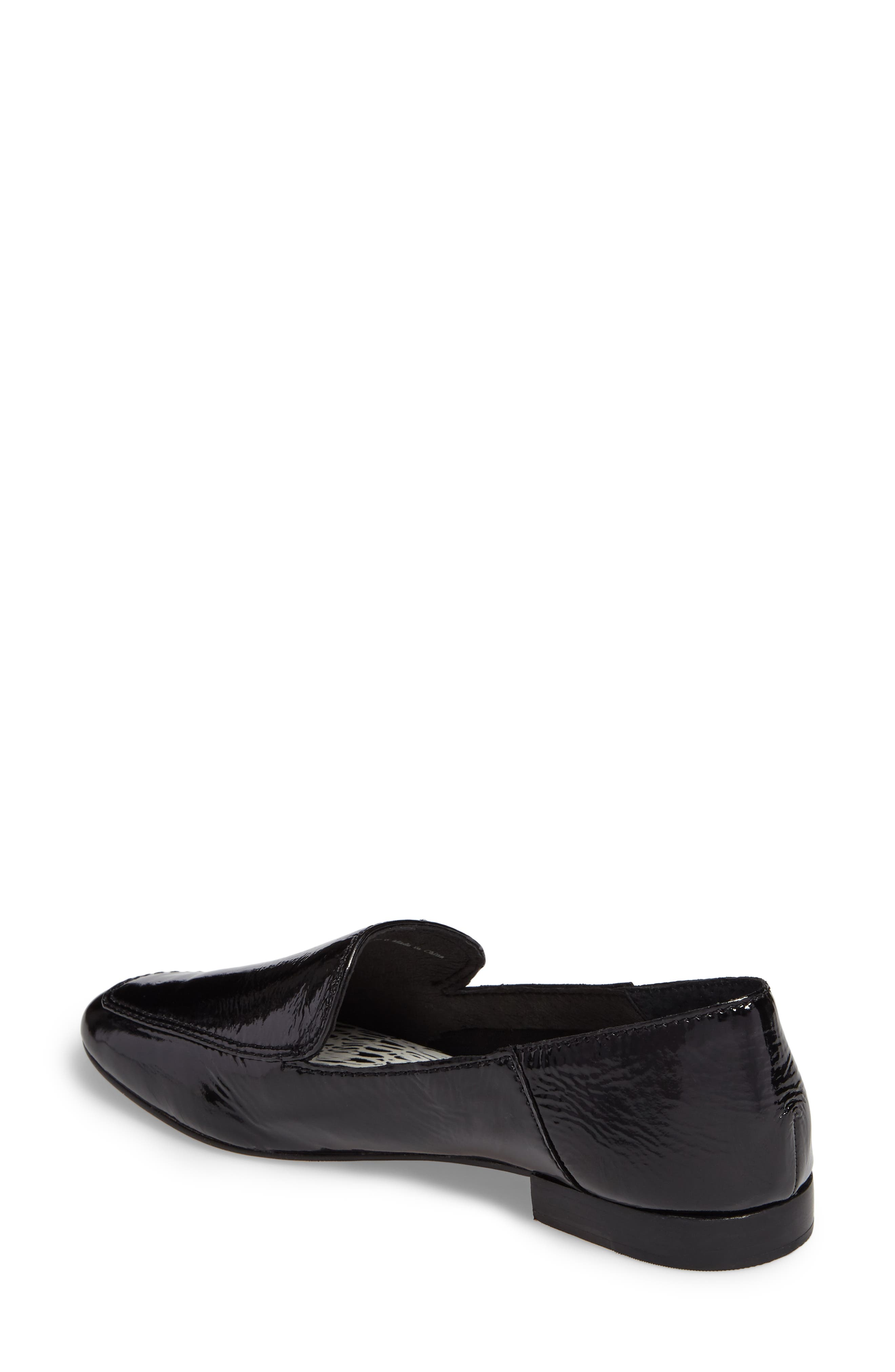 Camden Loafer,                             Alternate thumbnail 2, color,                             Onyx Patent Leather