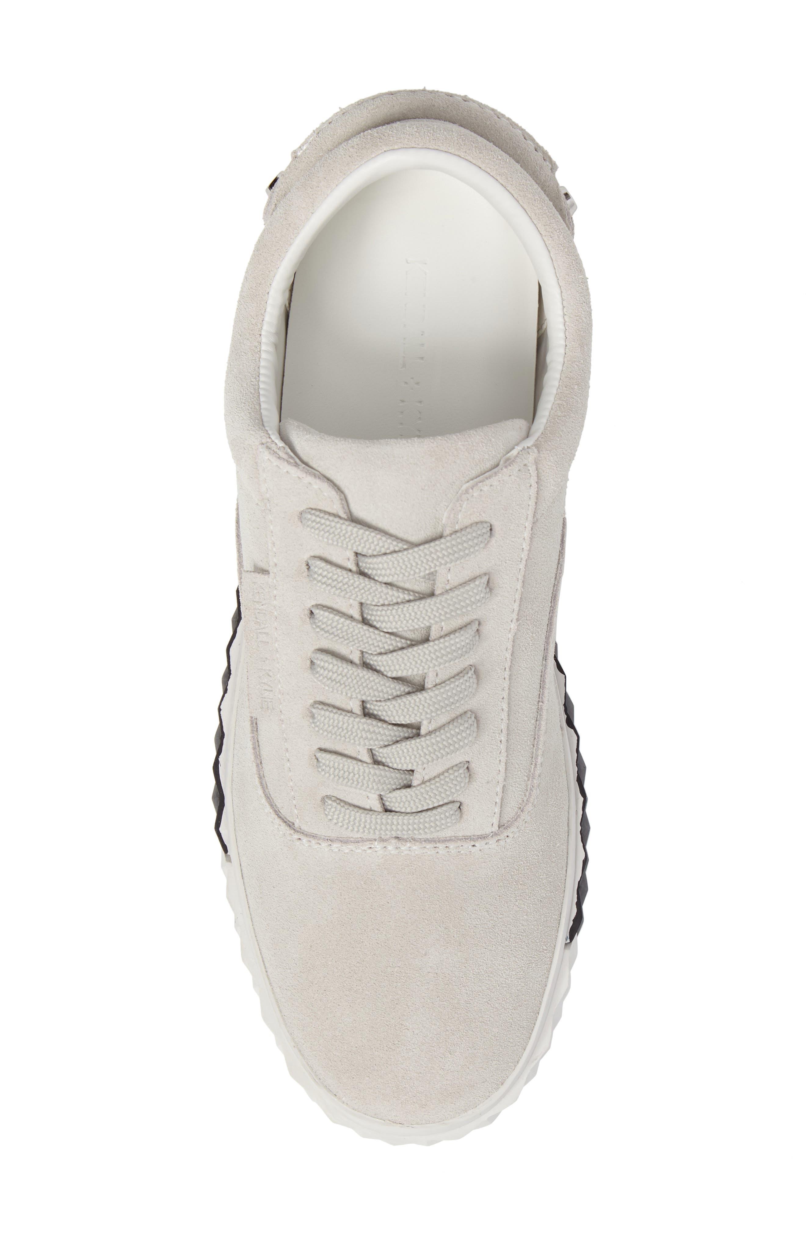 Reign Platform Sneaker,                             Alternate thumbnail 5, color,                             White
