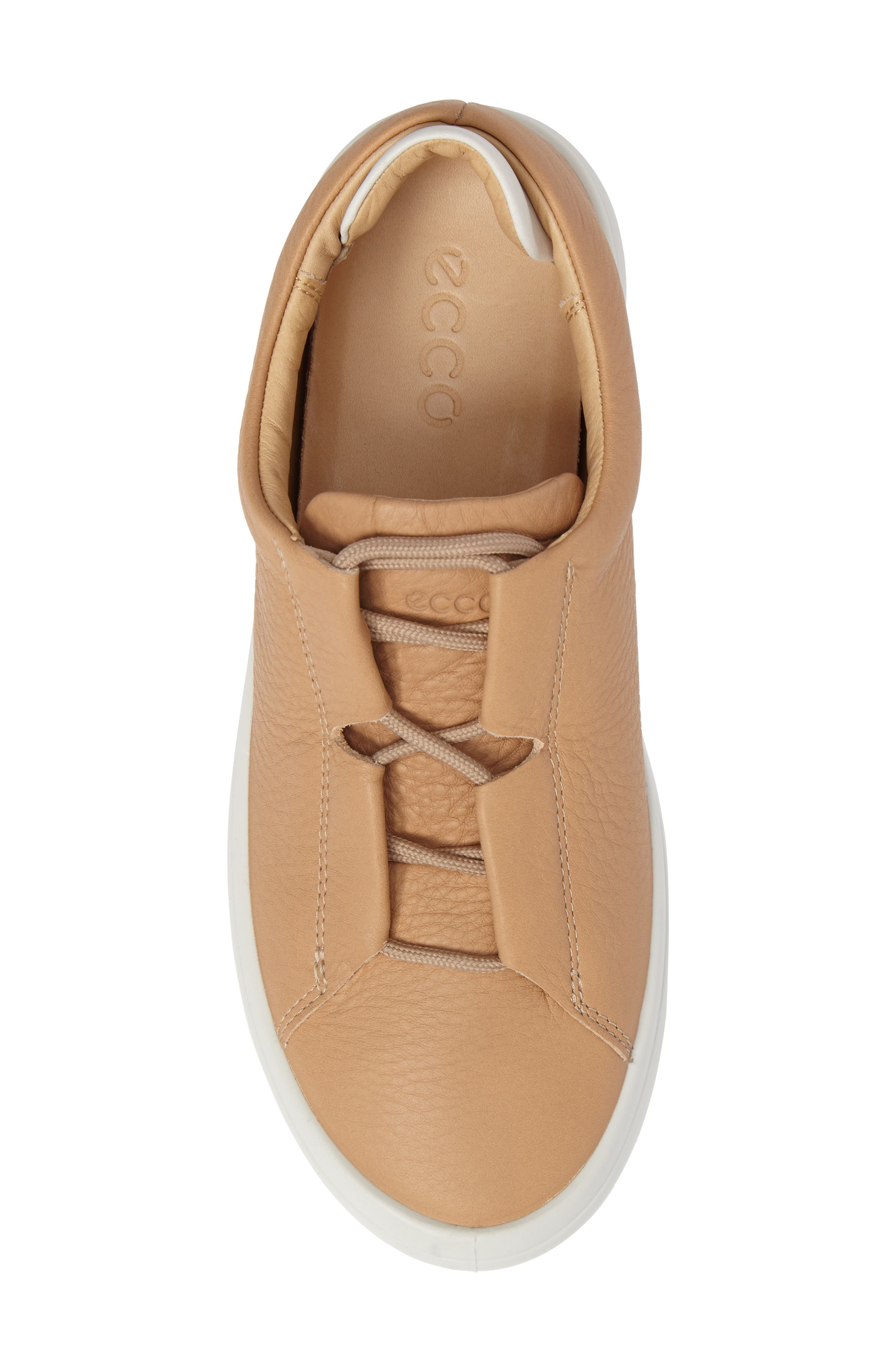 Kinhin Low Top Sneaker,                             Alternate thumbnail 5, color,                             Volluto Leather