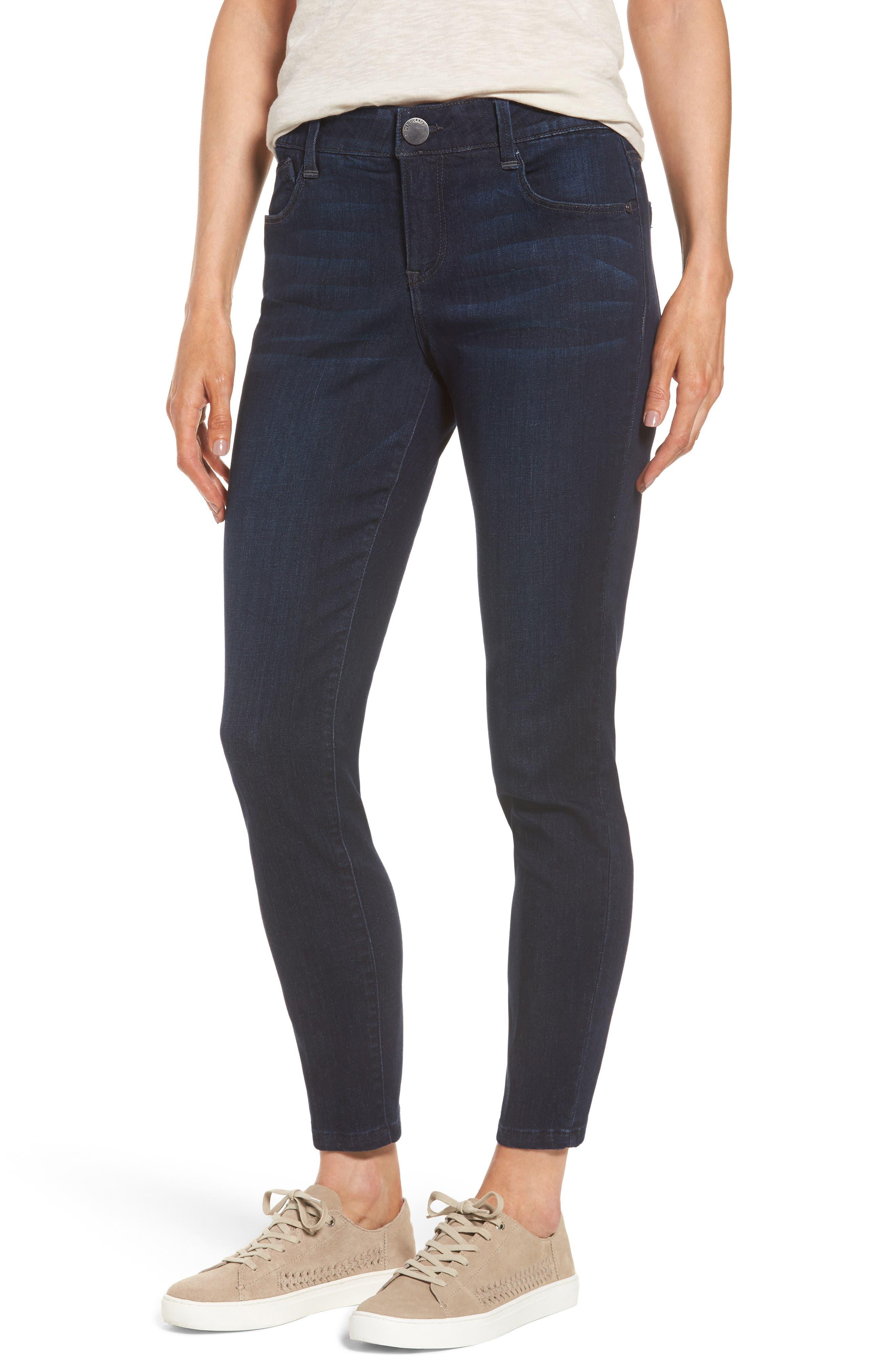 Ab-solution Ankle Skimmer Jeans,                         Main,                         color, Indigo
