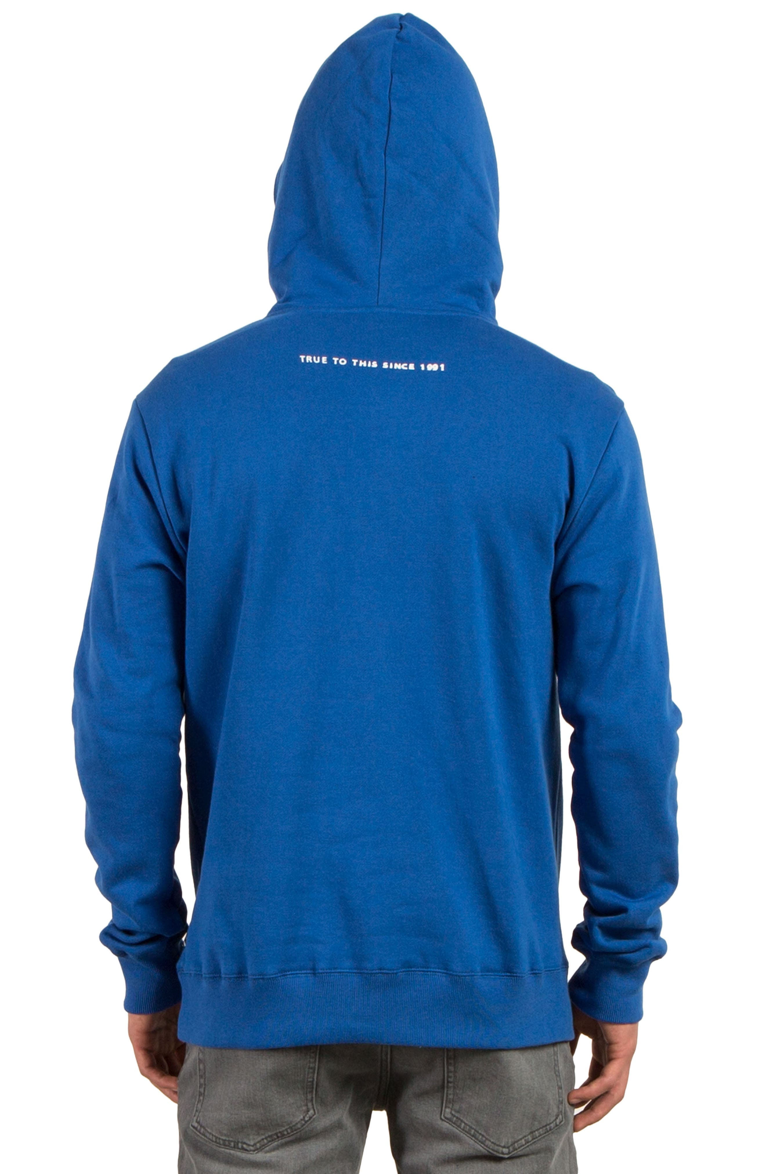 Stone Supply Graphic Hoodie,                             Alternate thumbnail 2, color,                             Blue True