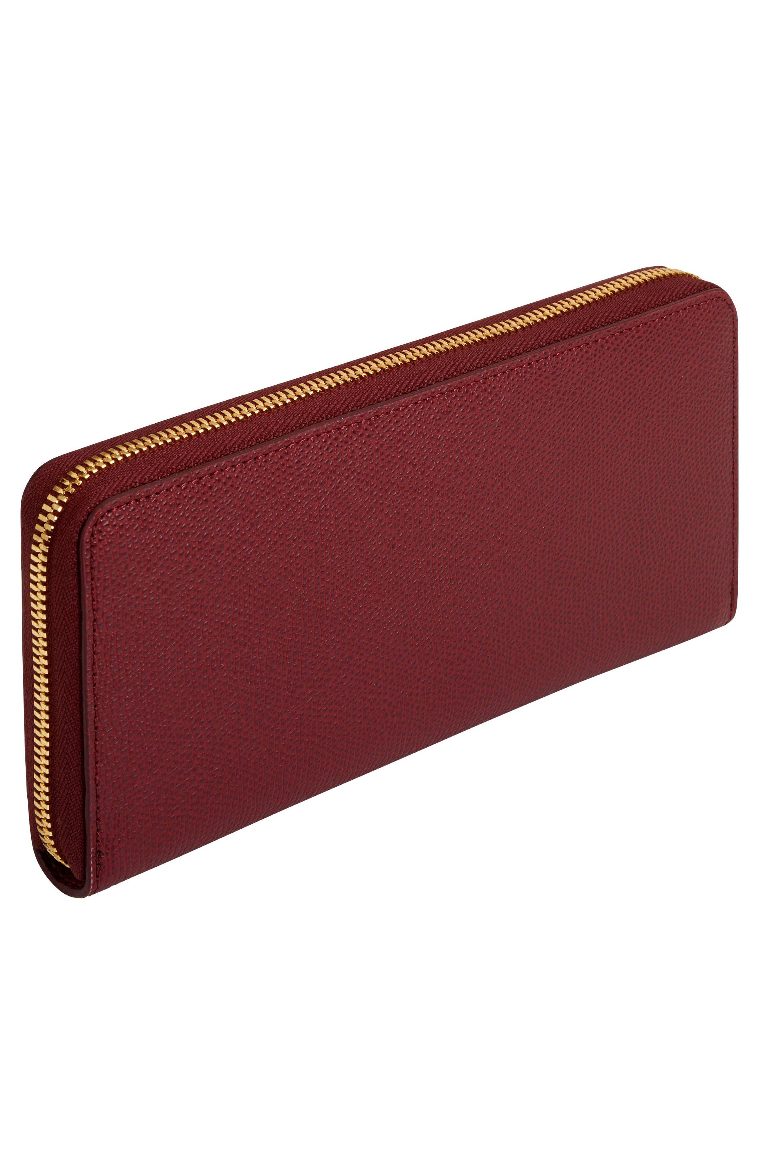 Continental Tech Wallet,                             Alternate thumbnail 3, color,                             Burgundy