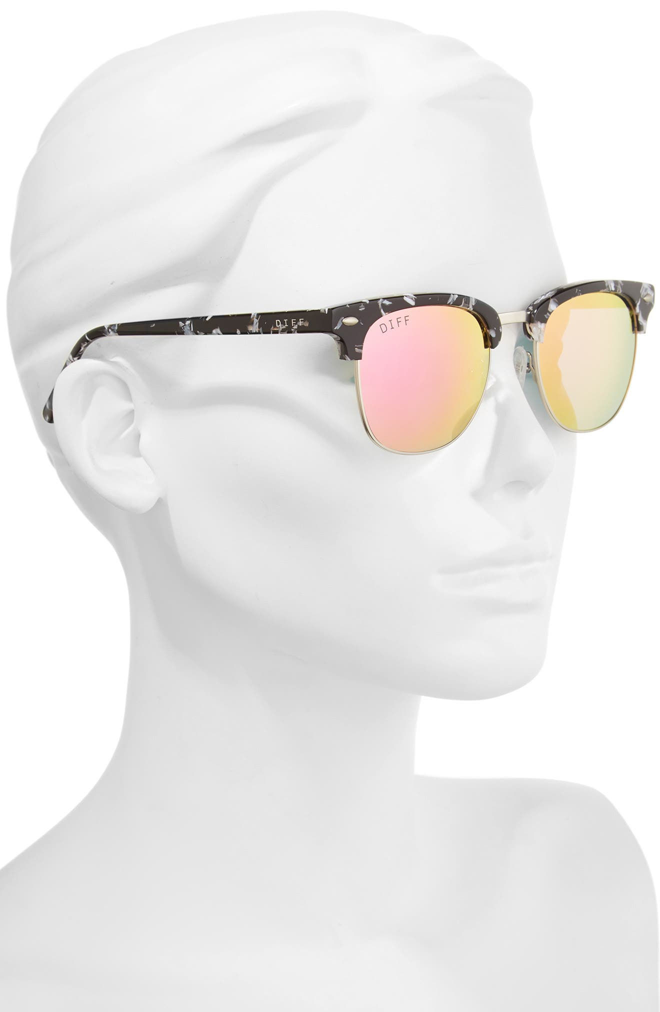 Alternate Image 2  - DIFF Barry 51mm Polarized Retro Sunglasses
