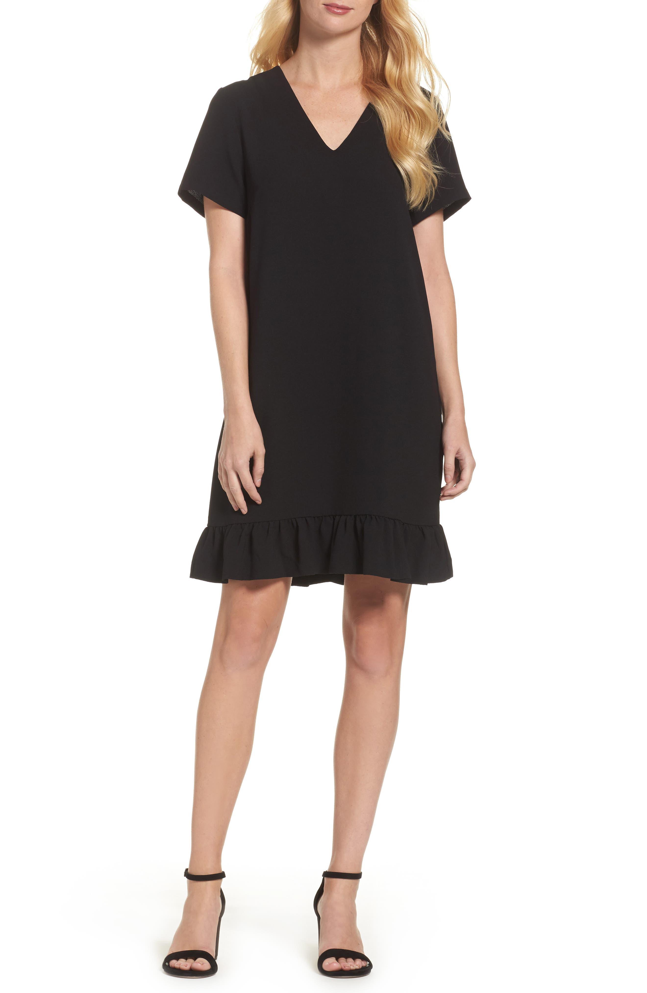 FELICITY & COCO Ruffle Shift Dress