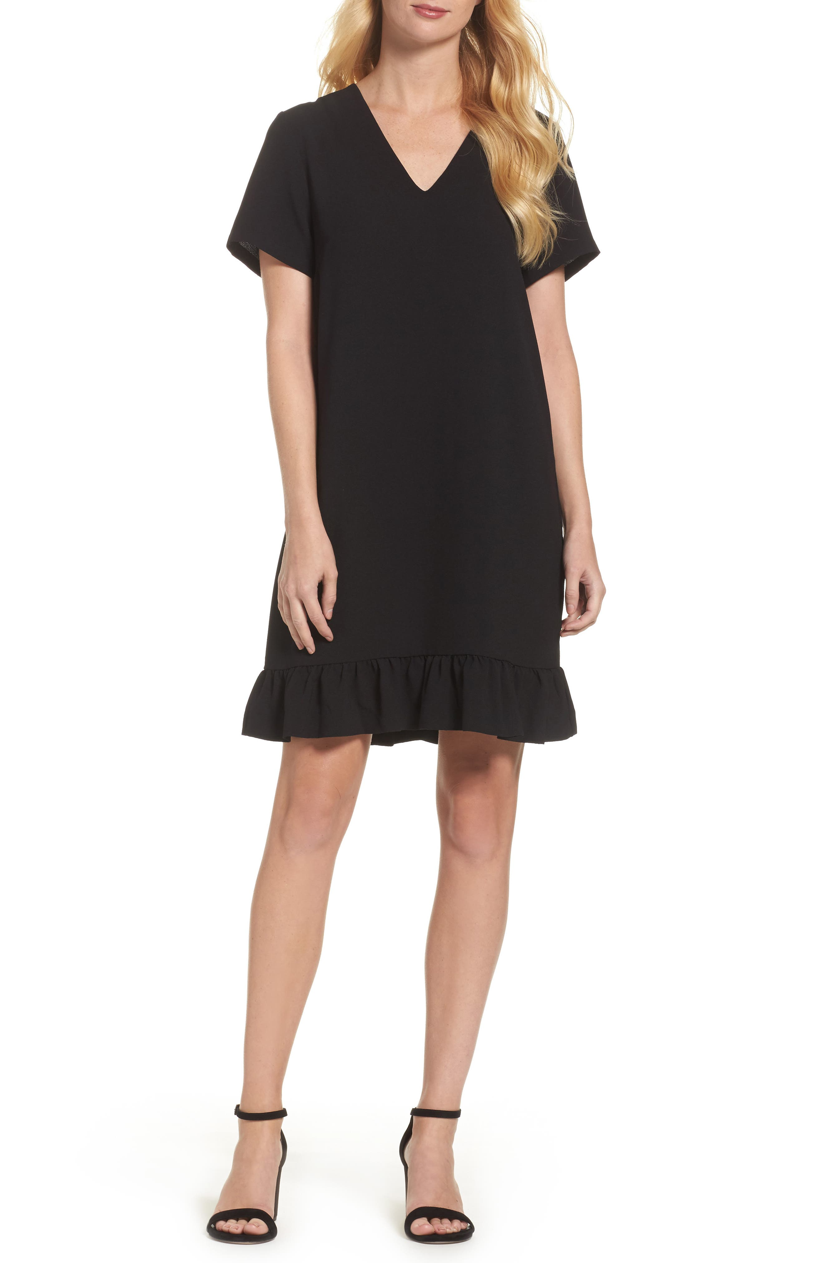 Felicity & Coco Ruffle Shift Dress (Nordstrom Exclusive)