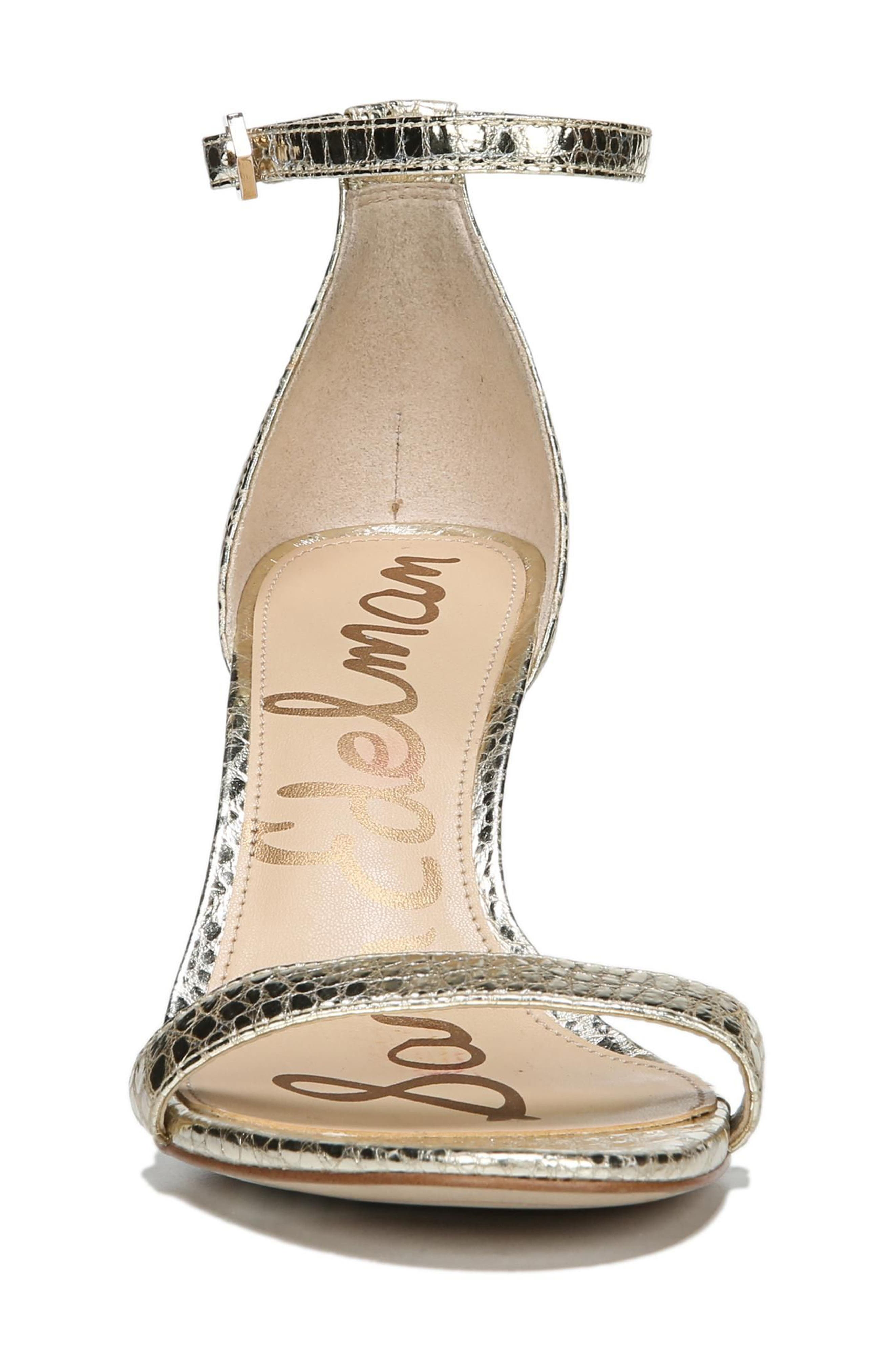 Alternate Image 3  - Sam Edelman 'Patti' Ankle Strap Sandal (Women)