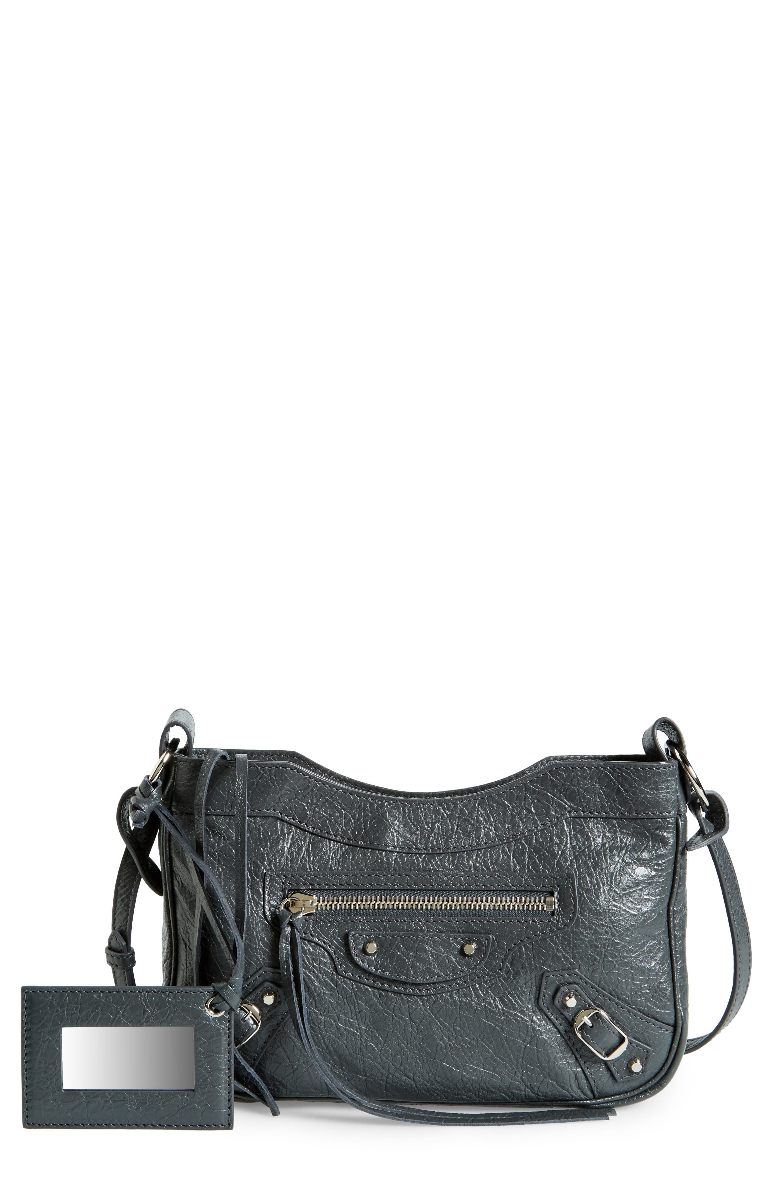 Alternate Image 1 Selected - Balenciaga Hip Leather Crossbody Bag