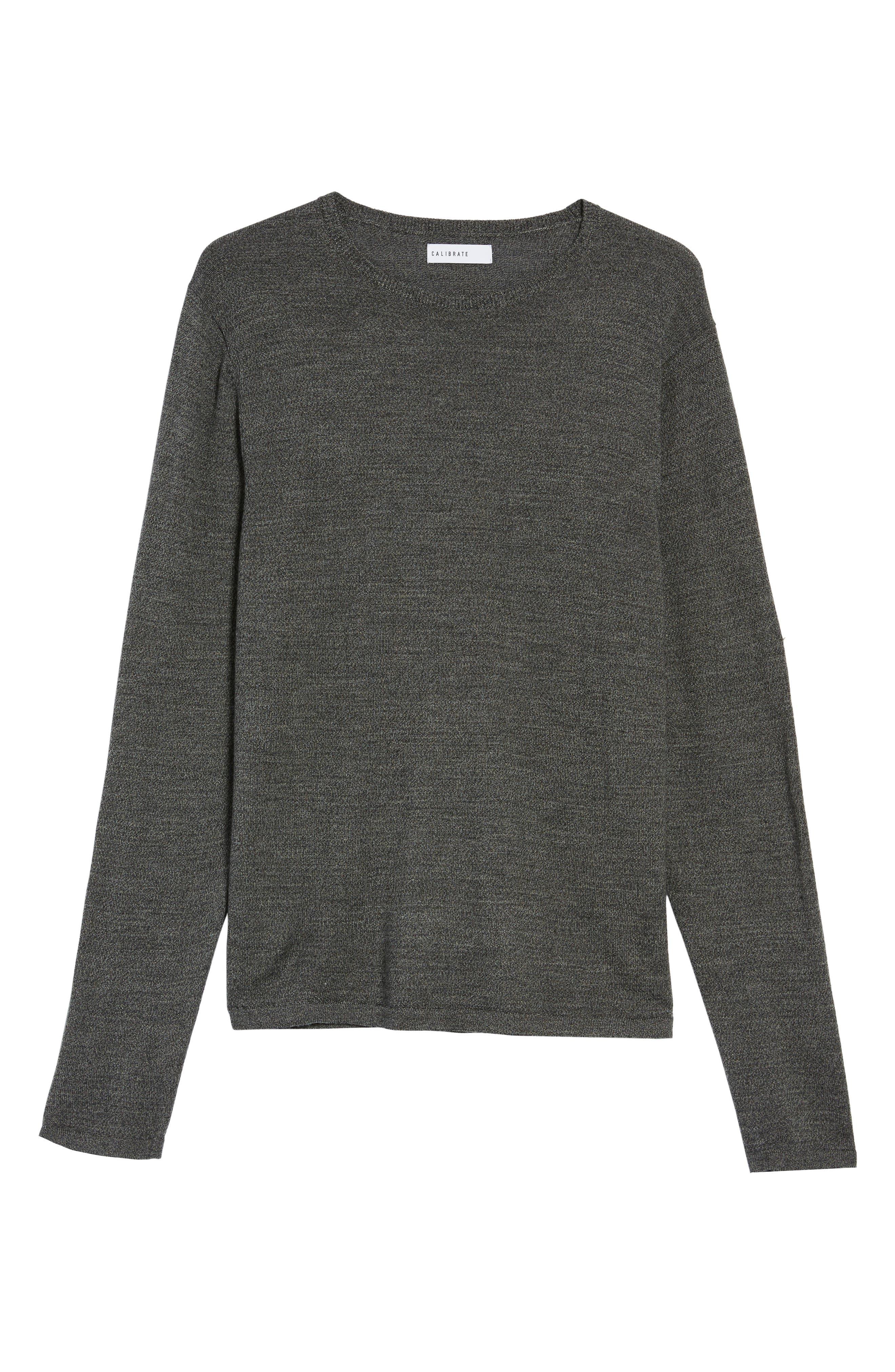 Alternate Image 6  - Calibrate Merino Blend Crewneck Sweater