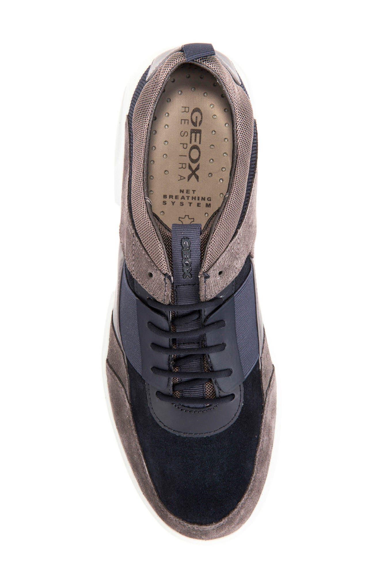 Traccia 5 Sneaker,                             Alternate thumbnail 5, color,                             Navy/ Anthracite