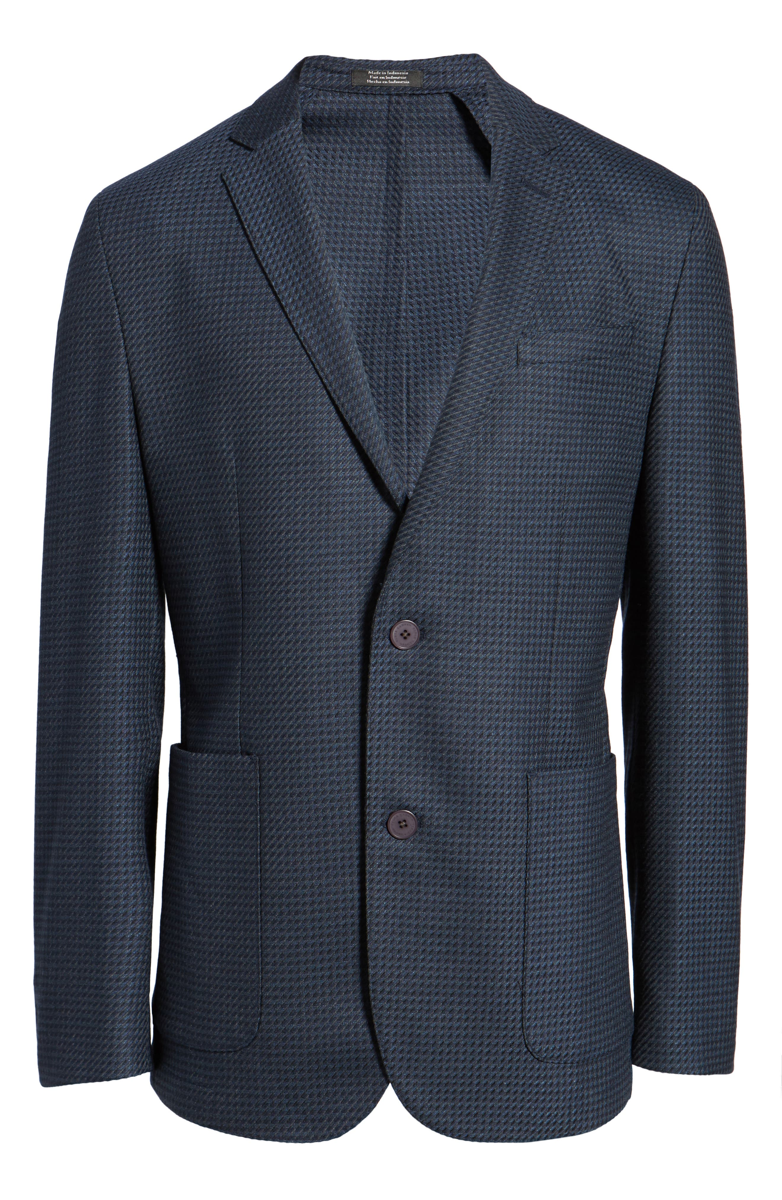 Alternate Image 5  - Vince Camuto Digital Houndstooth Wool Blend Sport Coat