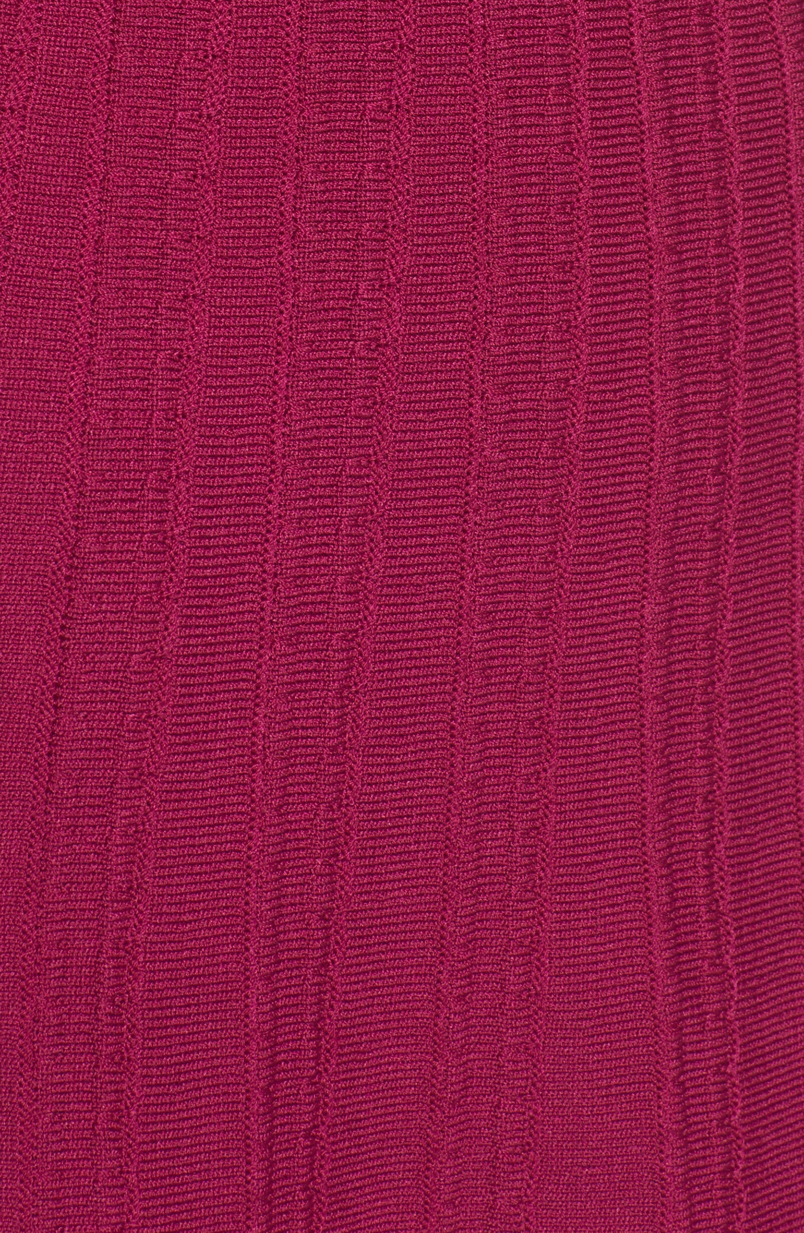 Alternate Image 5  - Anne Klein Knit Fit & Flare Dress
