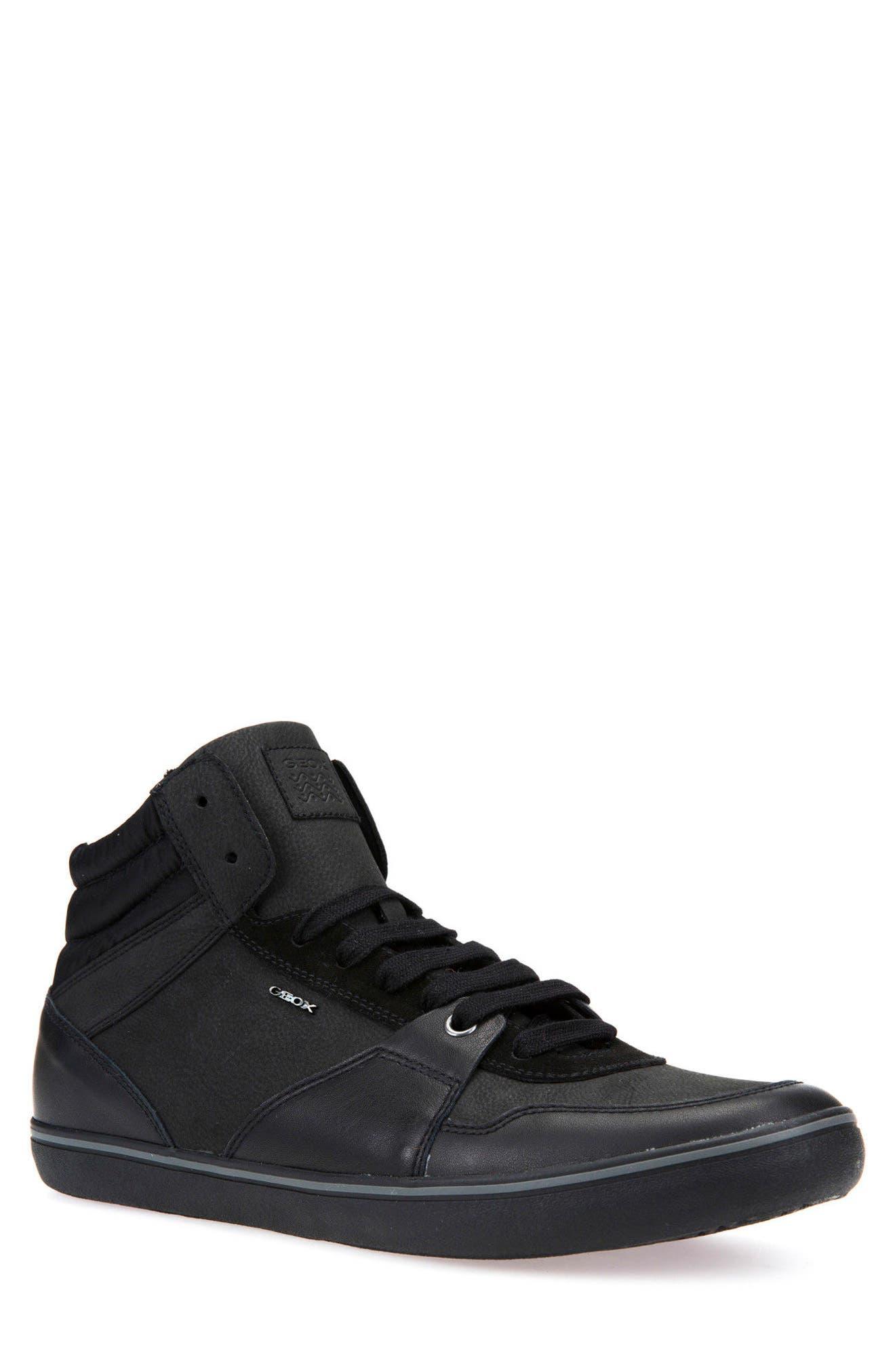 Box 31 High Top Sneaker,                         Main,                         color, Black