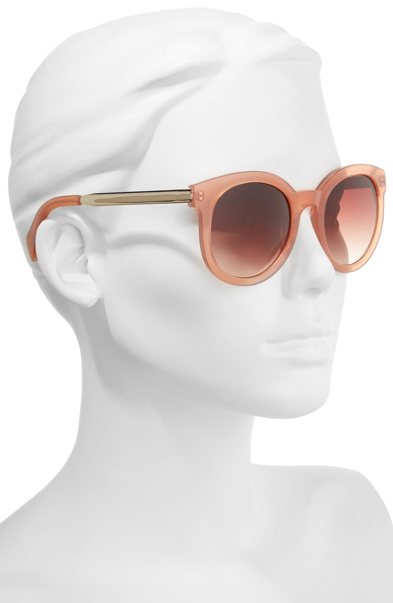 Alternate Image 2  - Draper James 53mm Gradient Lens Round Sunglasses