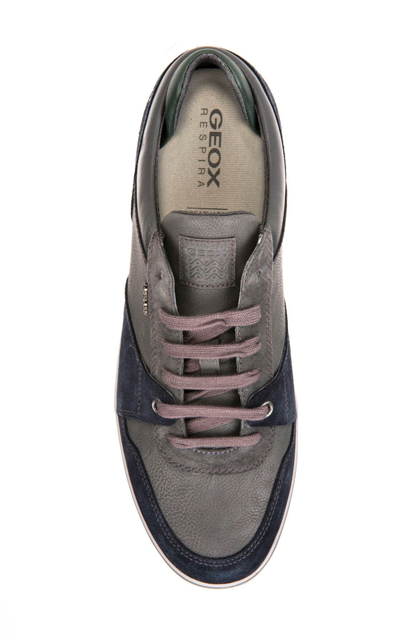 Box 26 Low Top Sneaker,                             Alternate thumbnail 5, color,                             Navy/ Anthracite