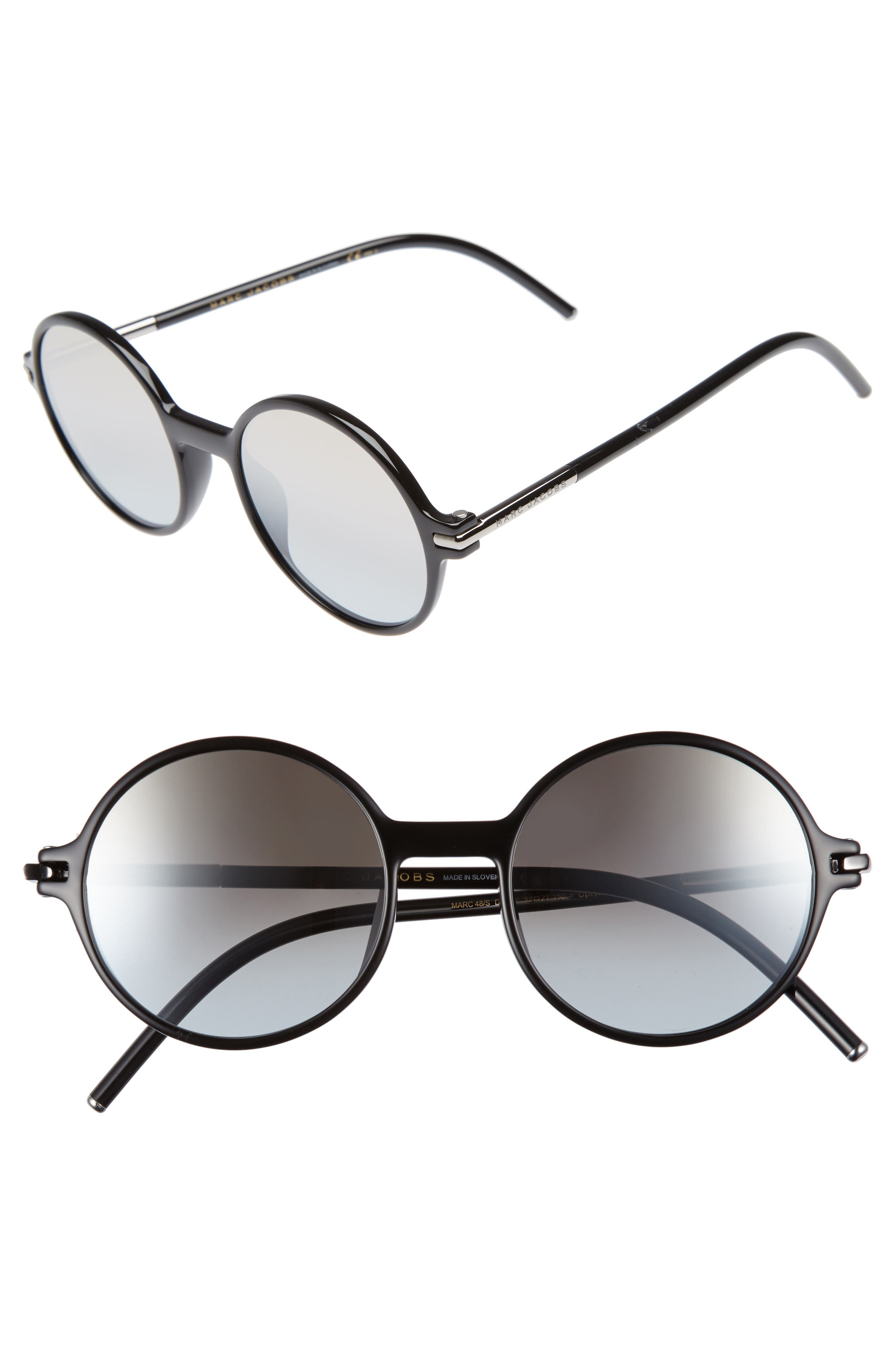 Main Image - MARC JACOBS 52mm Round Sunglasses